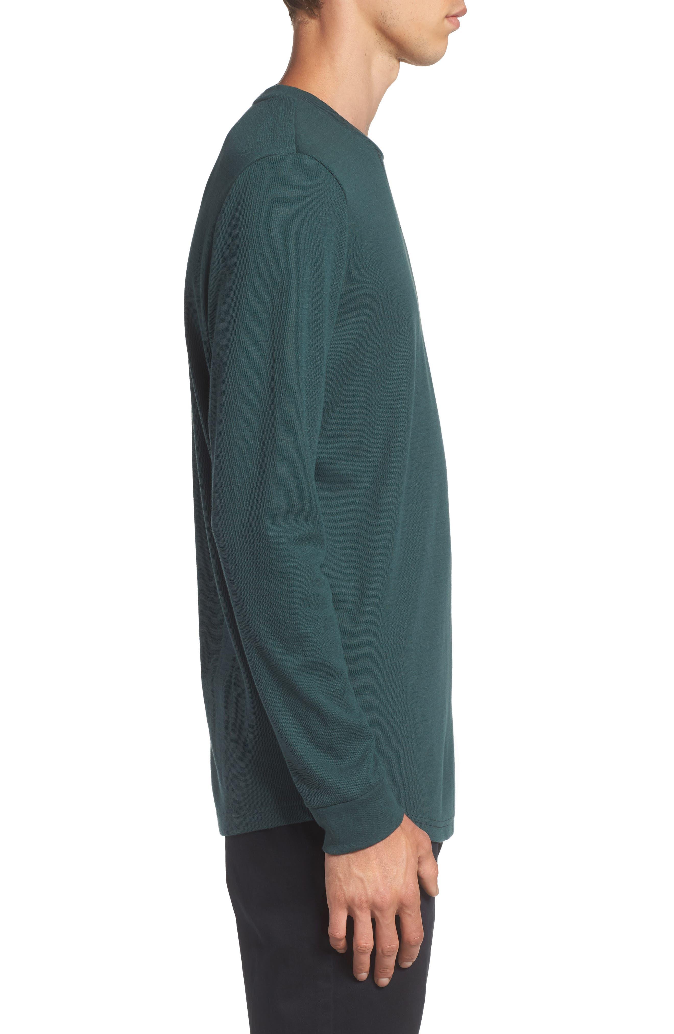 Longline Thermal T-Shirt,                             Alternate thumbnail 9, color,