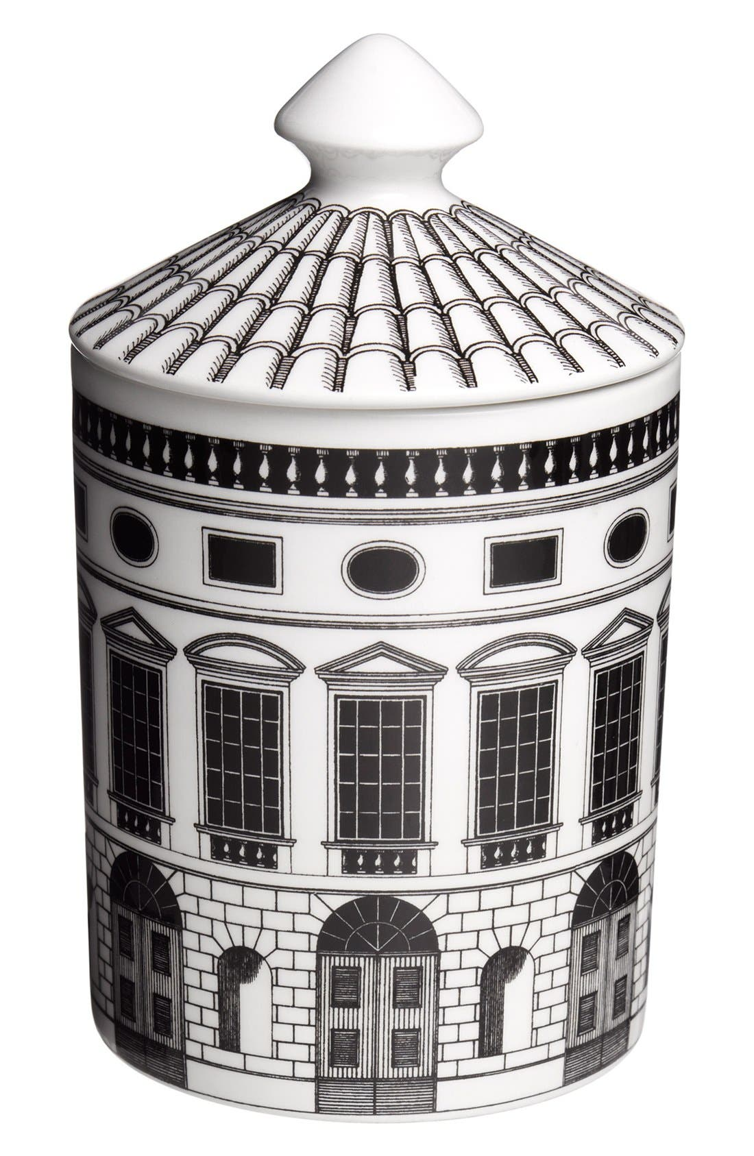 'Architettura - Otto' Lidded Candle,                             Main thumbnail 1, color,                             000