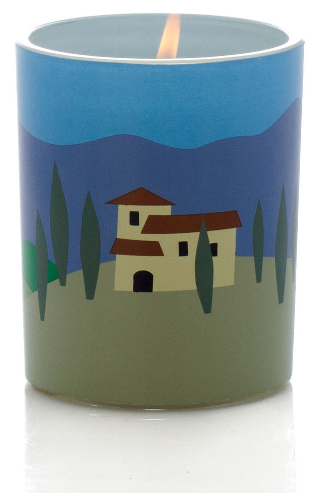 'Tuscany' Scented Candle,                             Main thumbnail 1, color,