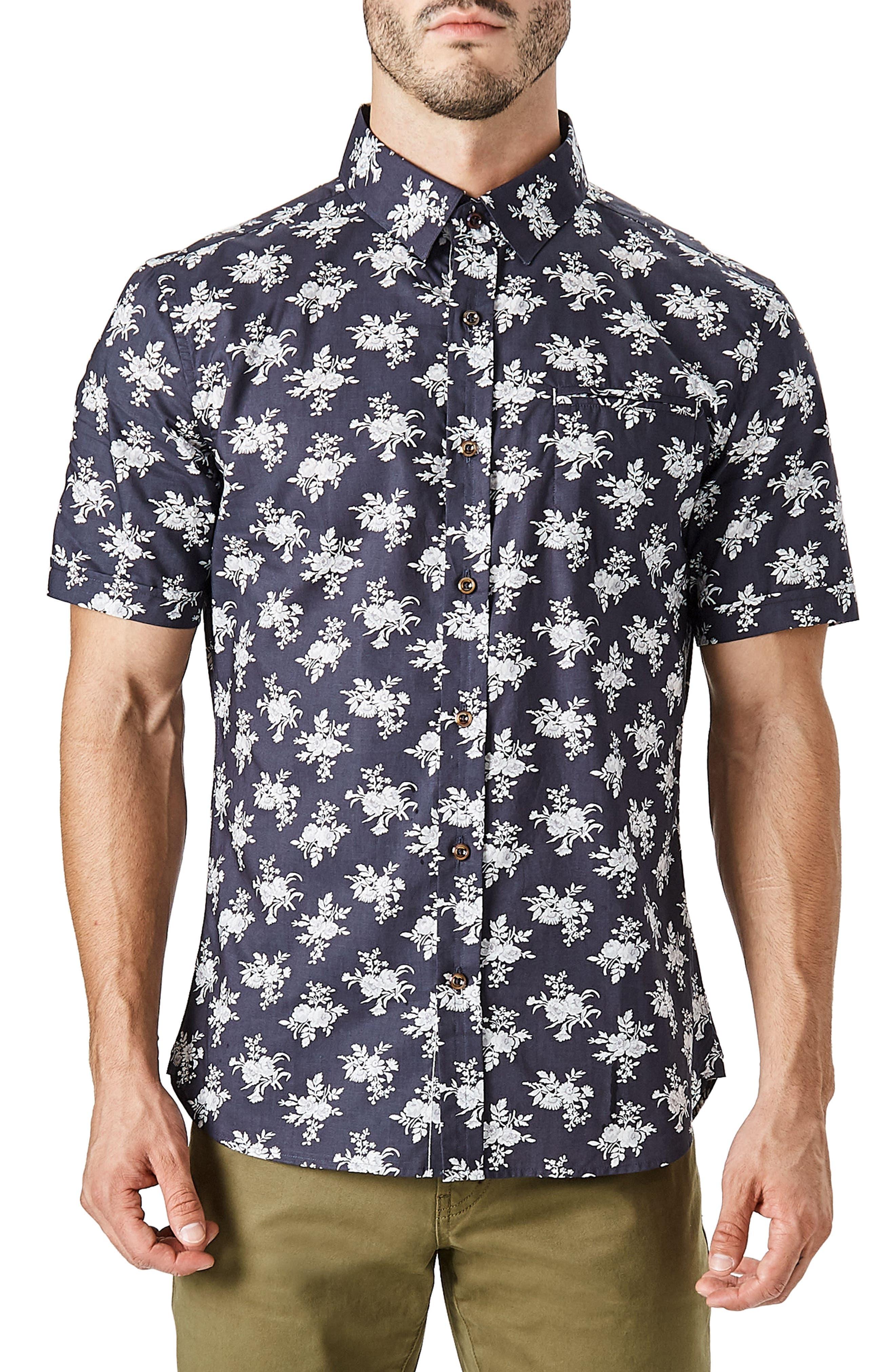 Nature's Way Short Sleeve Shirt,                         Main,                         color,