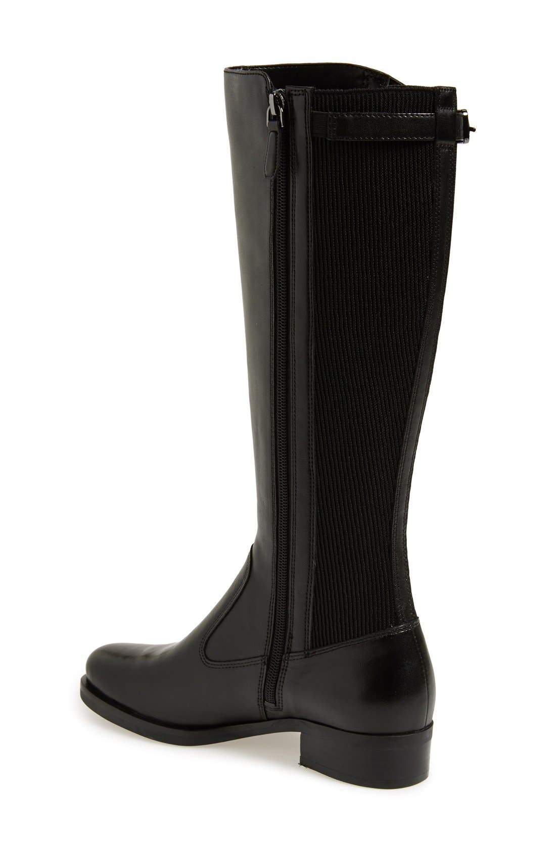 'Adel' Tall Boot,                             Alternate thumbnail 2, color,                             001