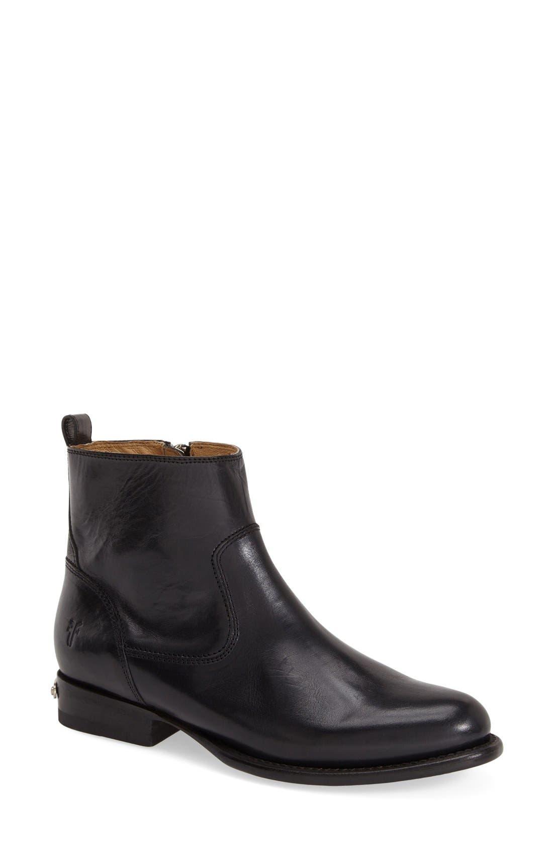'Danielle' Ankle Boot, Main, color, 001