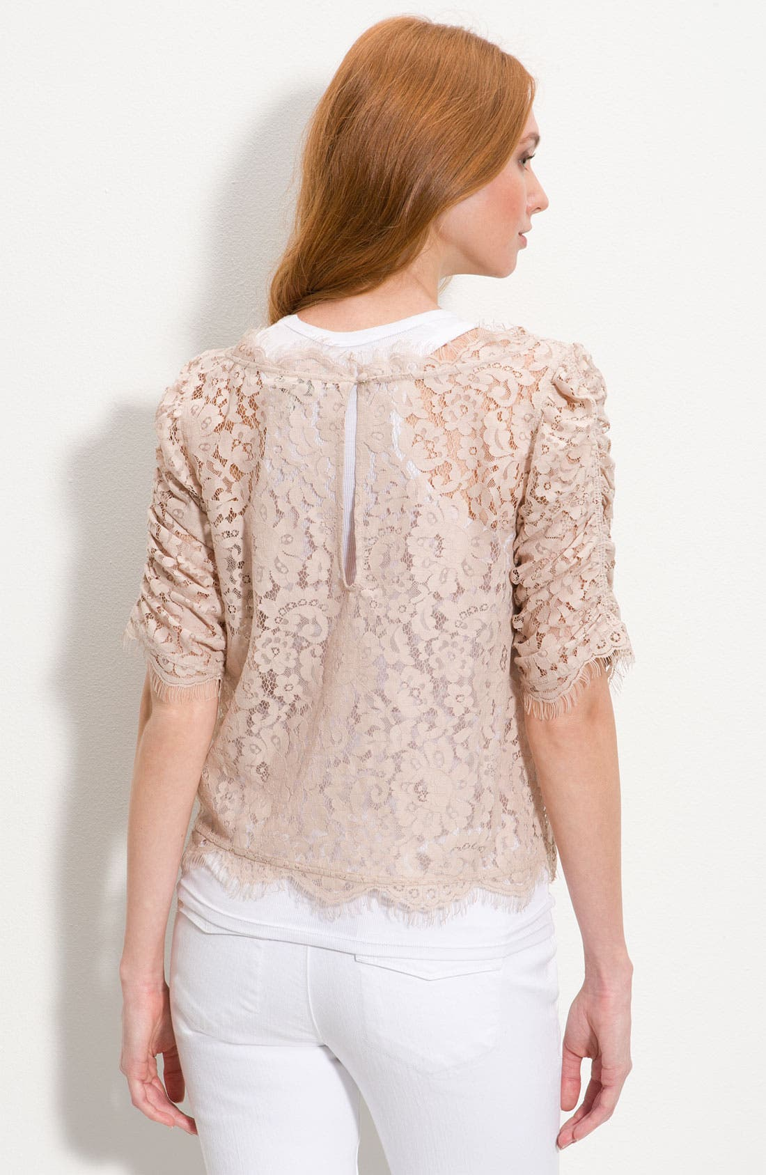 'Fanny' Sheer Lace Top, Main, color, 650