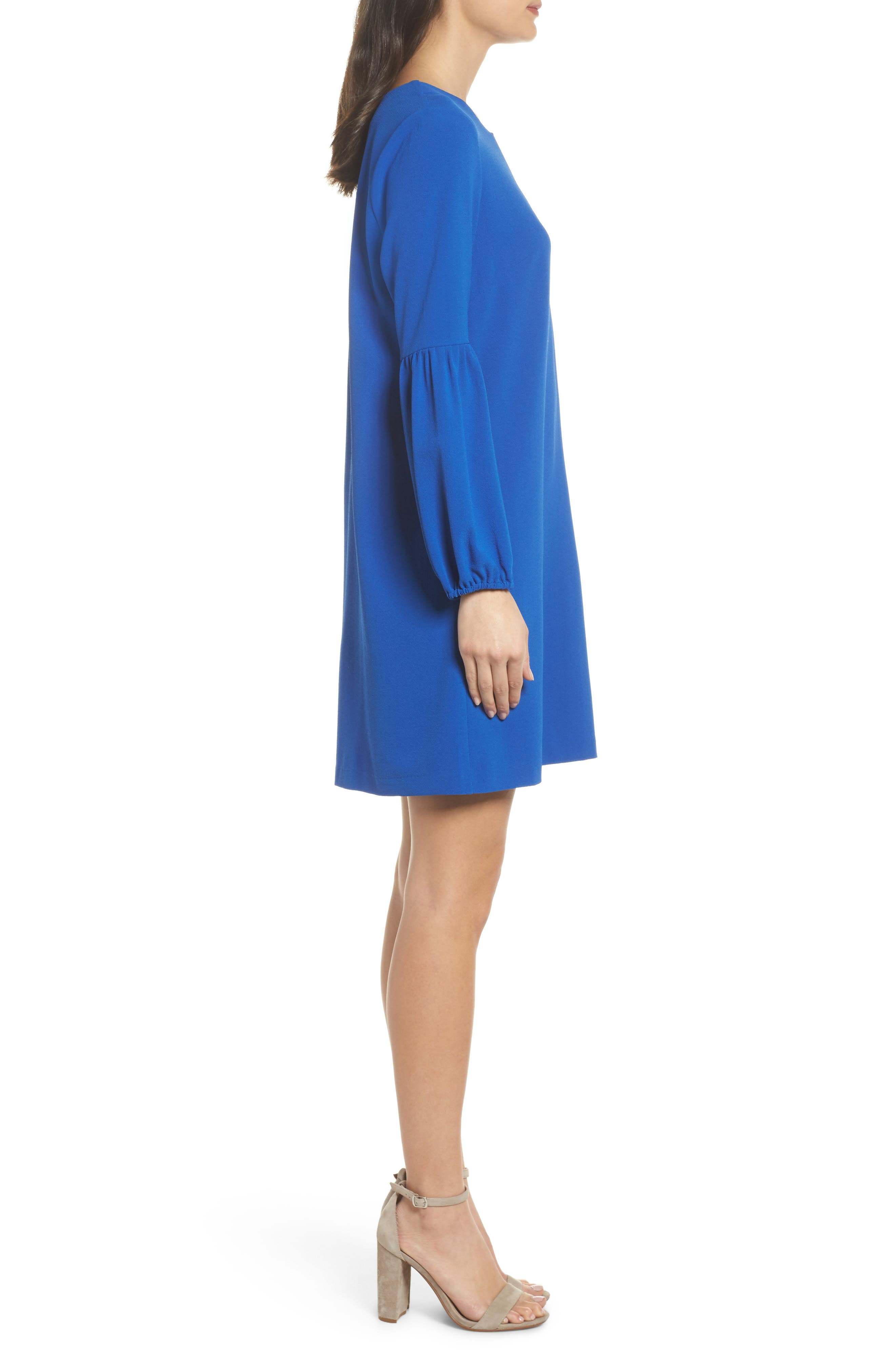 Veronika Shift Dress,                             Alternate thumbnail 3, color,                             425