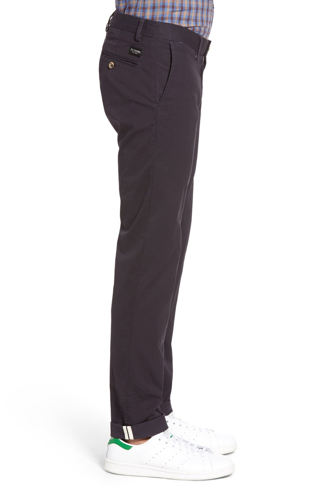Slim Fit Stretch Chinos,                             Alternate thumbnail 47, color,