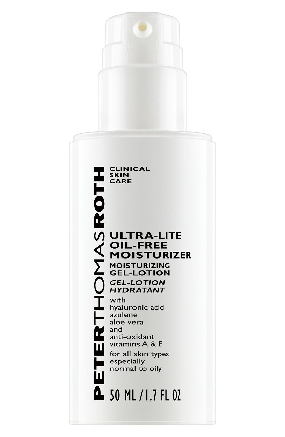 PETER THOMAS ROTH,                             Ultra-Lite Oil-Free Moisturizer,                             Main thumbnail 1, color,                             000