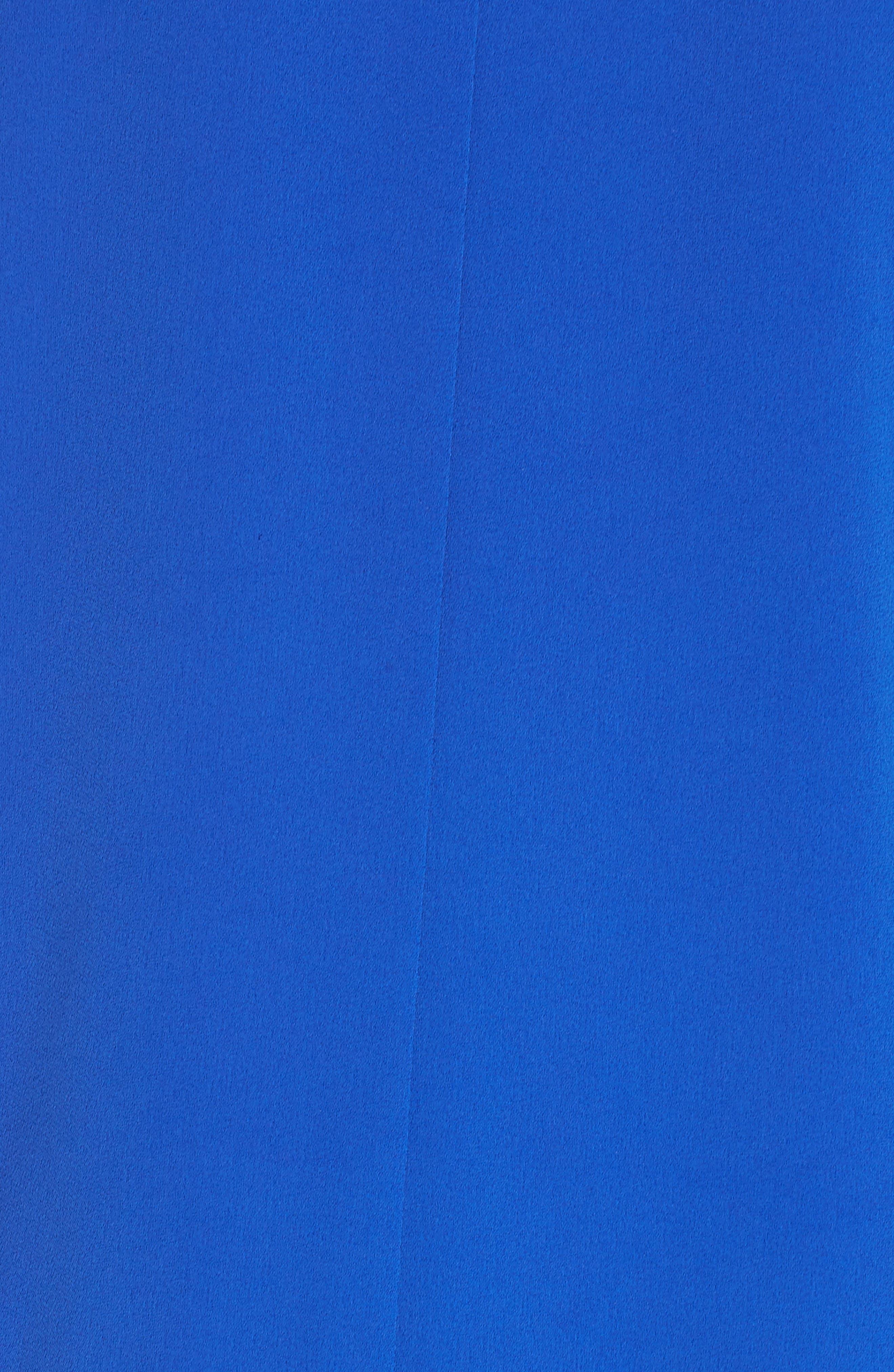 Keyhole Shift Dress,                             Alternate thumbnail 6, color,                             ROYAL BLUE