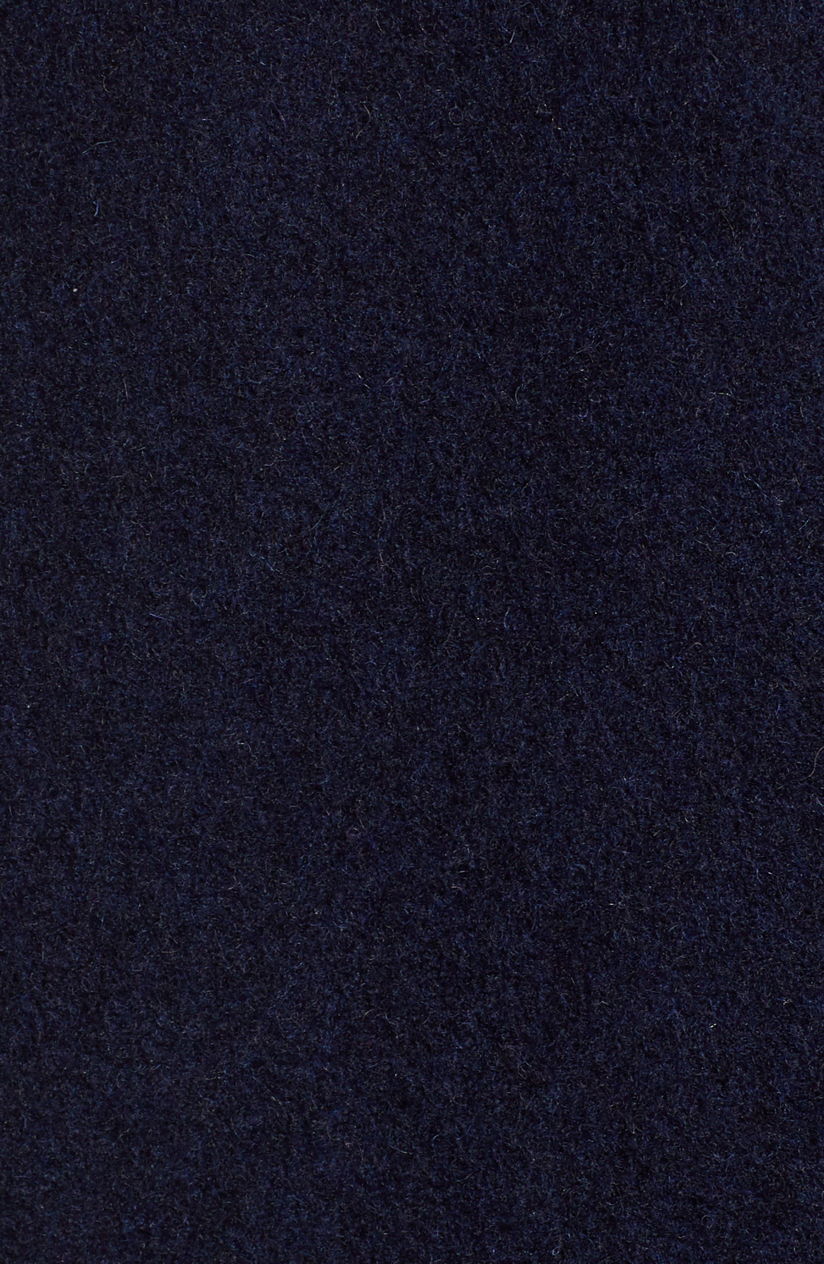 x Atlantic-Pacific Wrap Pencil Skirt,                             Alternate thumbnail 5, color,                             NAVY BLAZER