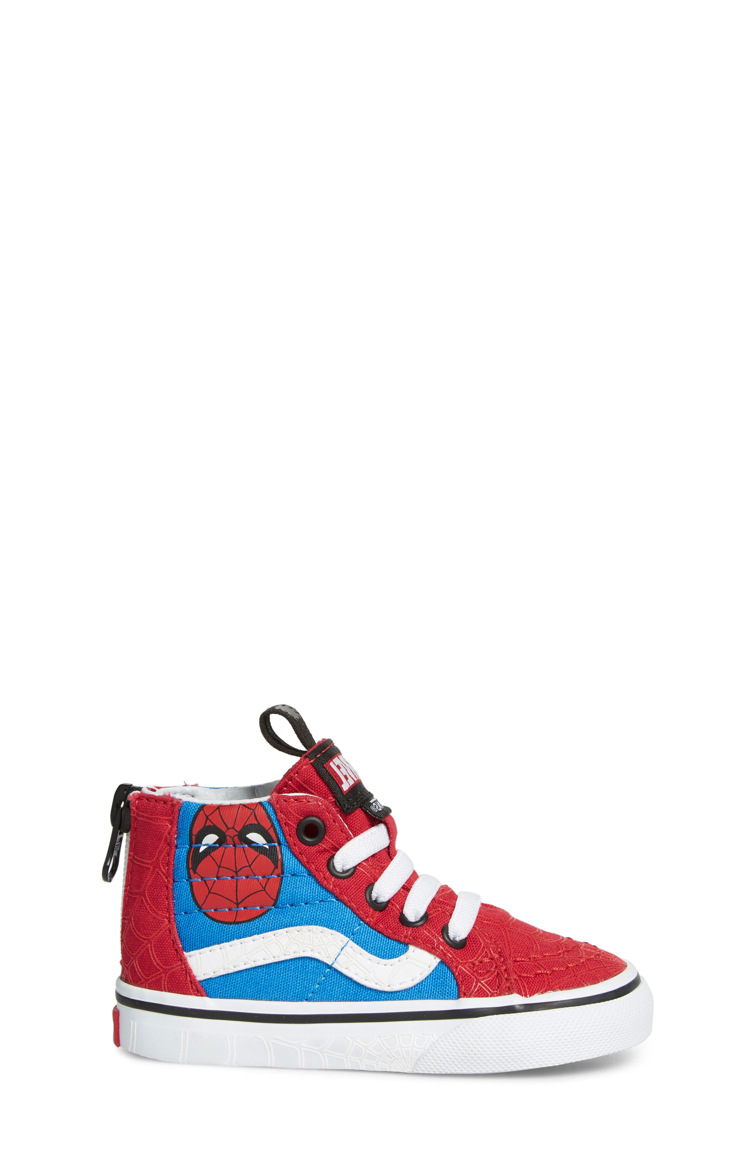 x Marvel<sup>®</sup> Spider-Man SK8-Hi Sneaker,                             Alternate thumbnail 3, color,                             610