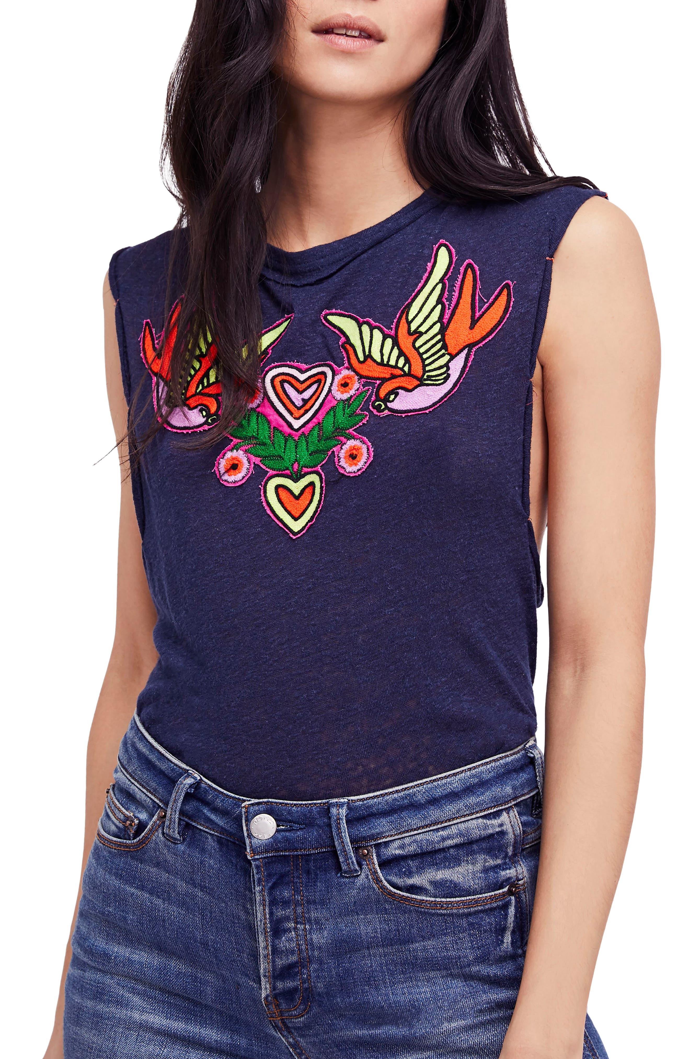 Love Birds Tee,                         Main,                         color, 410