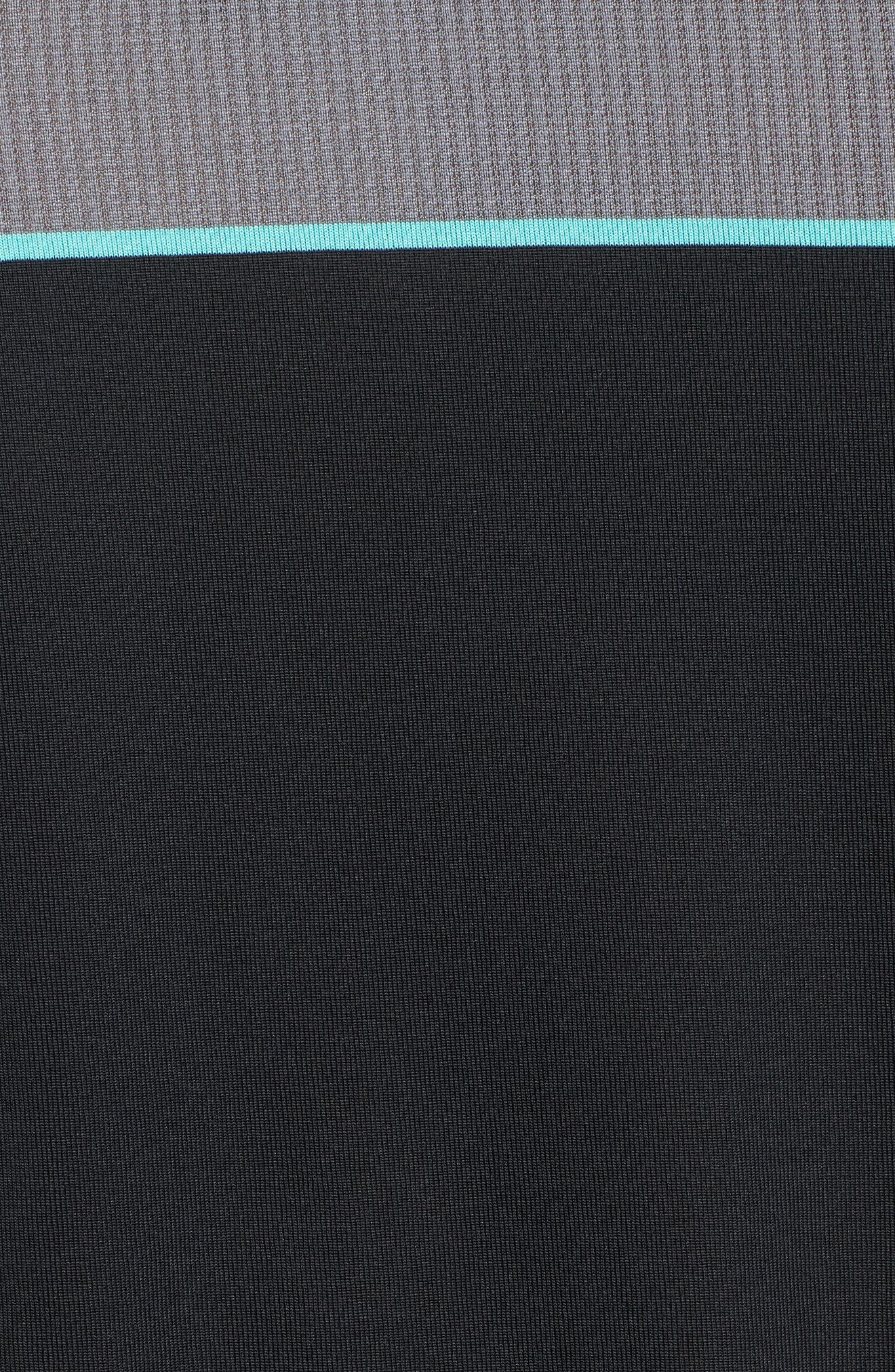 Threadborne Infinite Regular Fit Polo Shirt,                             Alternate thumbnail 5, color,                             001