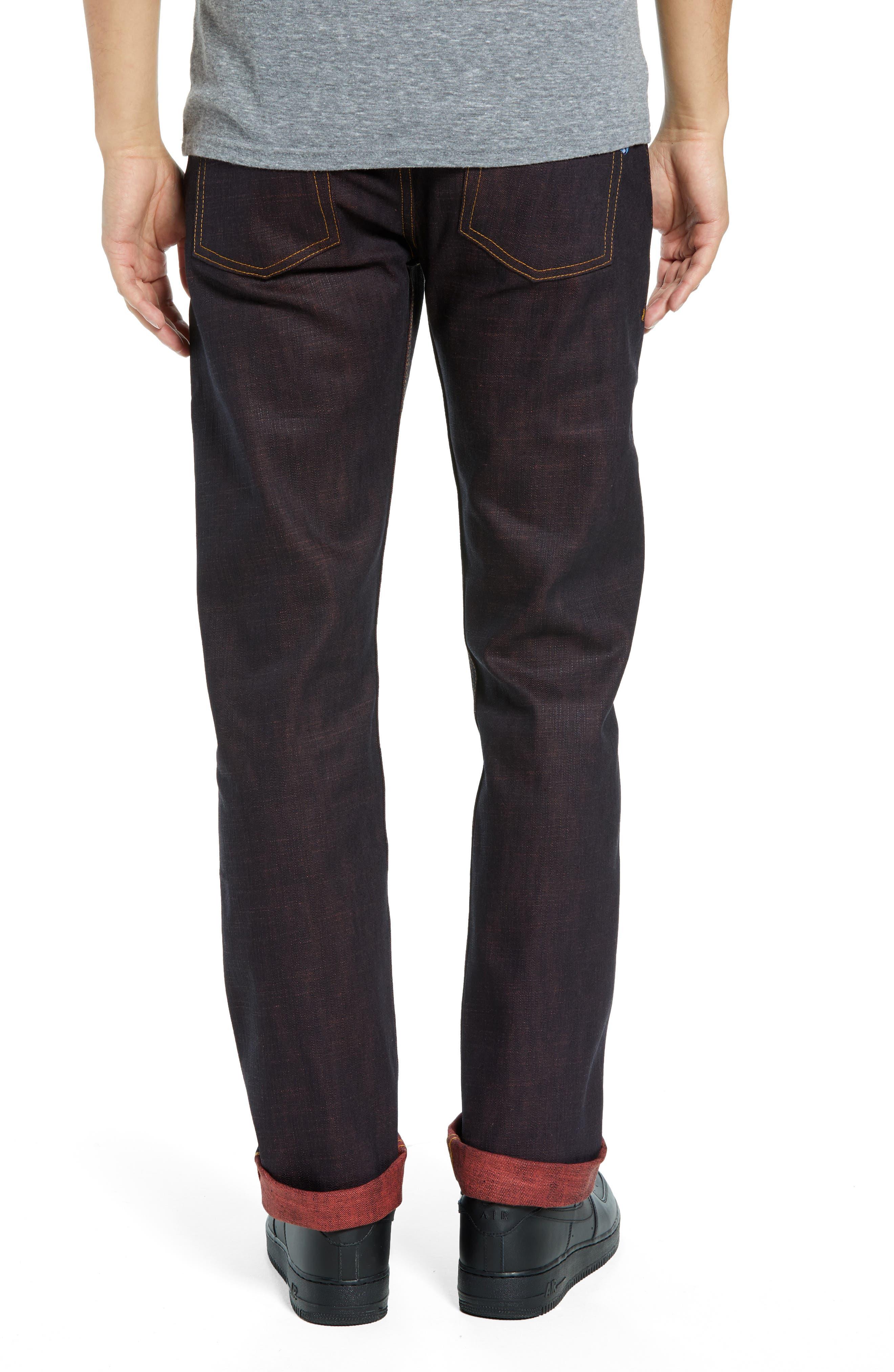 Weird Guy Slim Fit Jeans,                             Alternate thumbnail 2, color,                             KEN SHORYUKEN SELVEDGE
