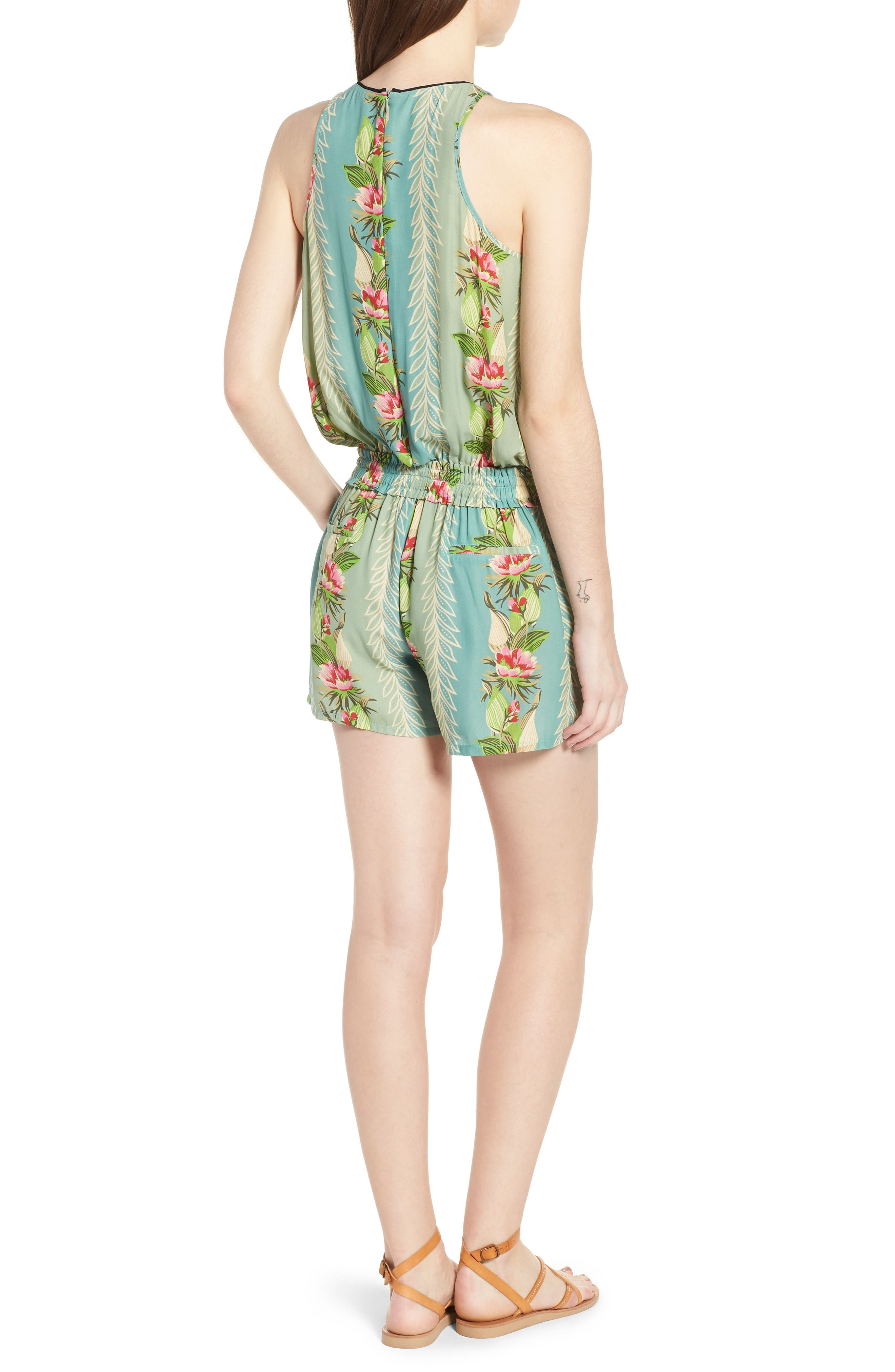Print All in One Romper,                             Alternate thumbnail 2, color,                             440