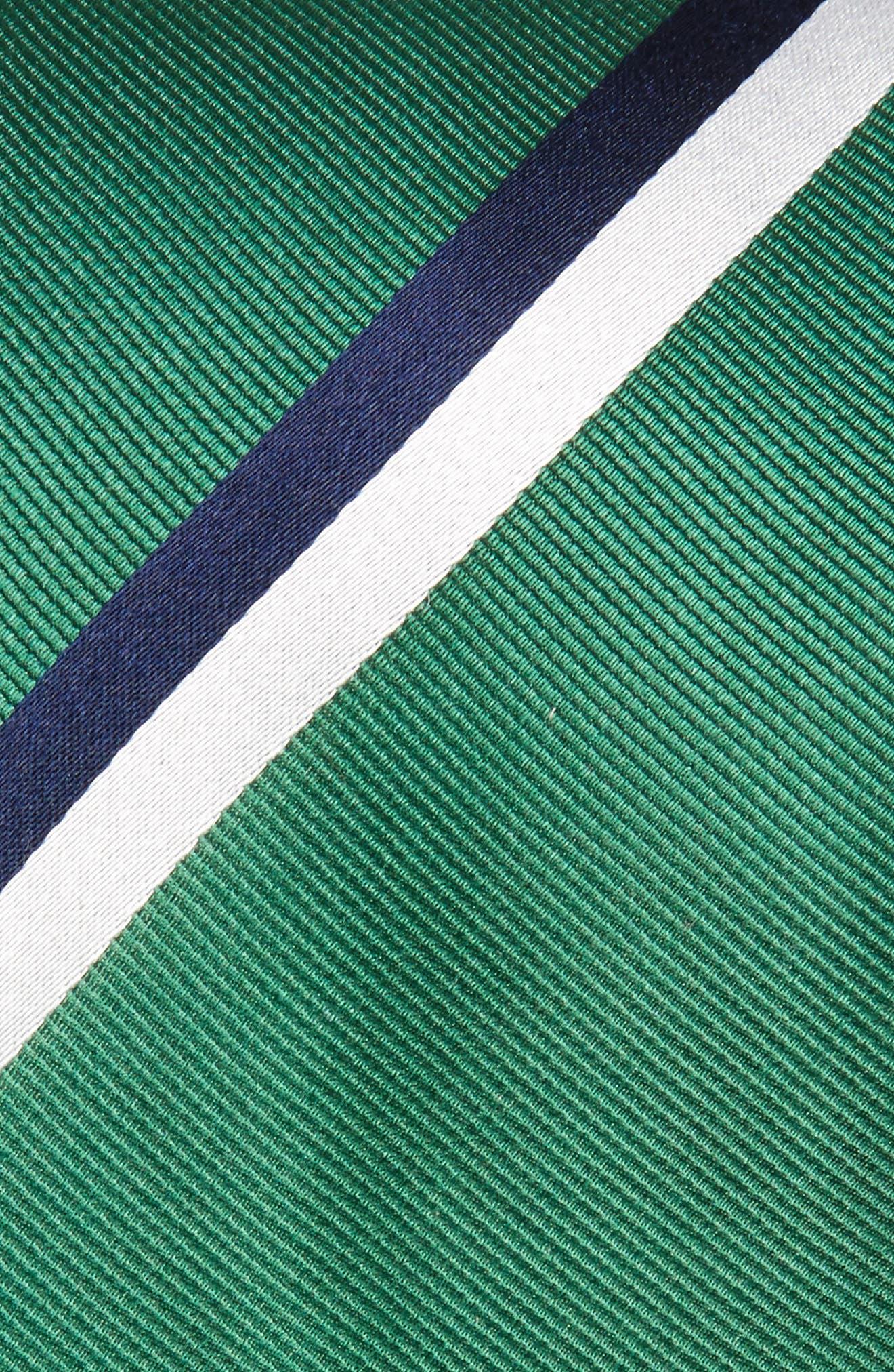 Ad Stripe Silk Tie,                             Alternate thumbnail 2, color,                             300