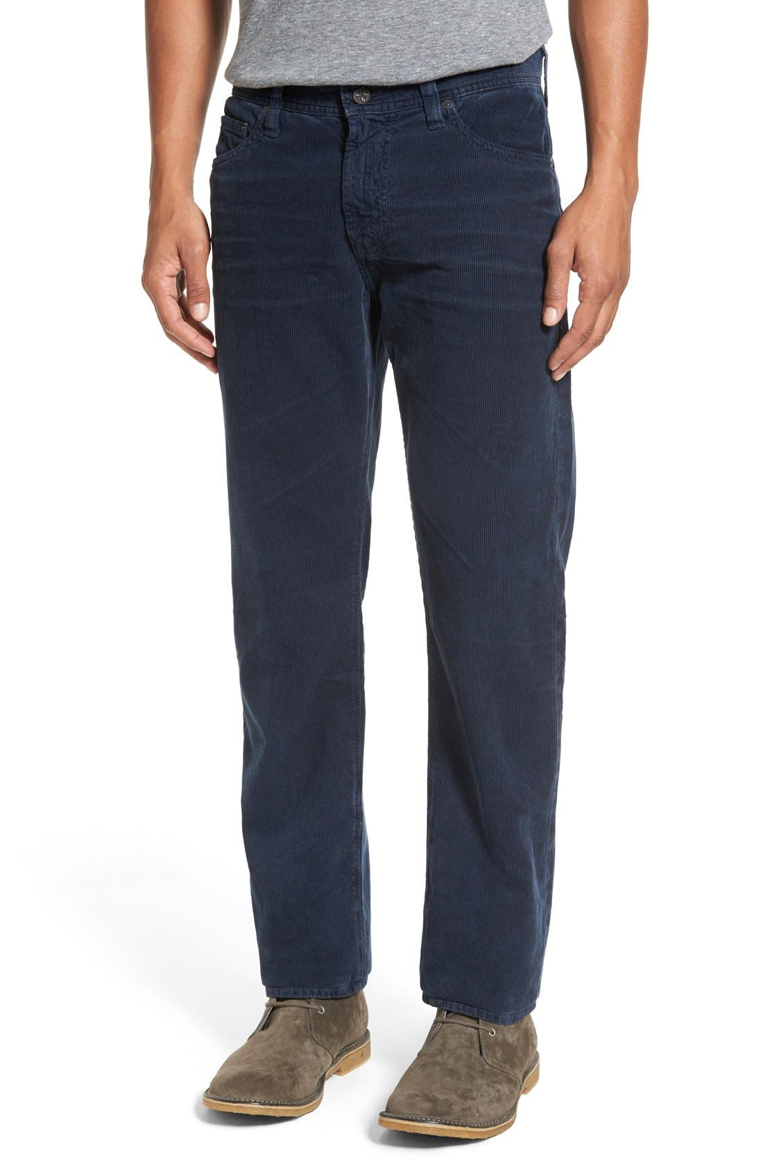 'Graduate' Tailored Straight Leg Corduroy Pants,                             Main thumbnail 15, color,