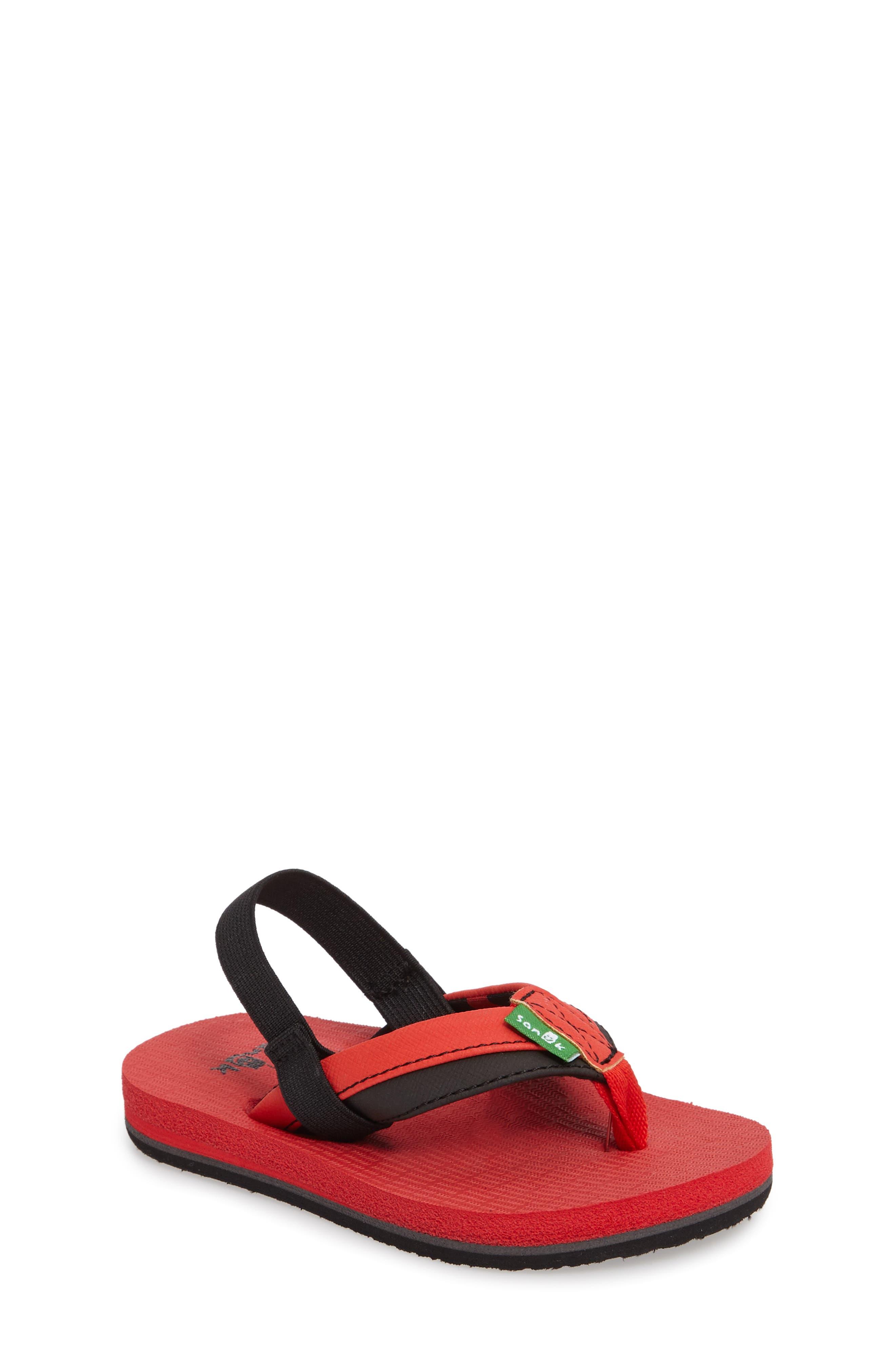 'Rootbeer Cozy' Lightweight Flip Flop Sandal,                             Main thumbnail 5, color,