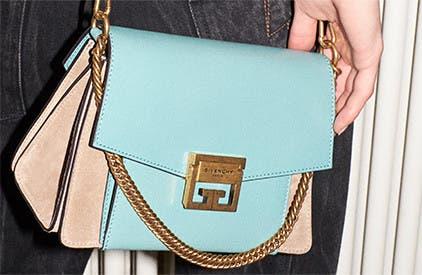 Givenchy's GV3 designer crossbody handbag.