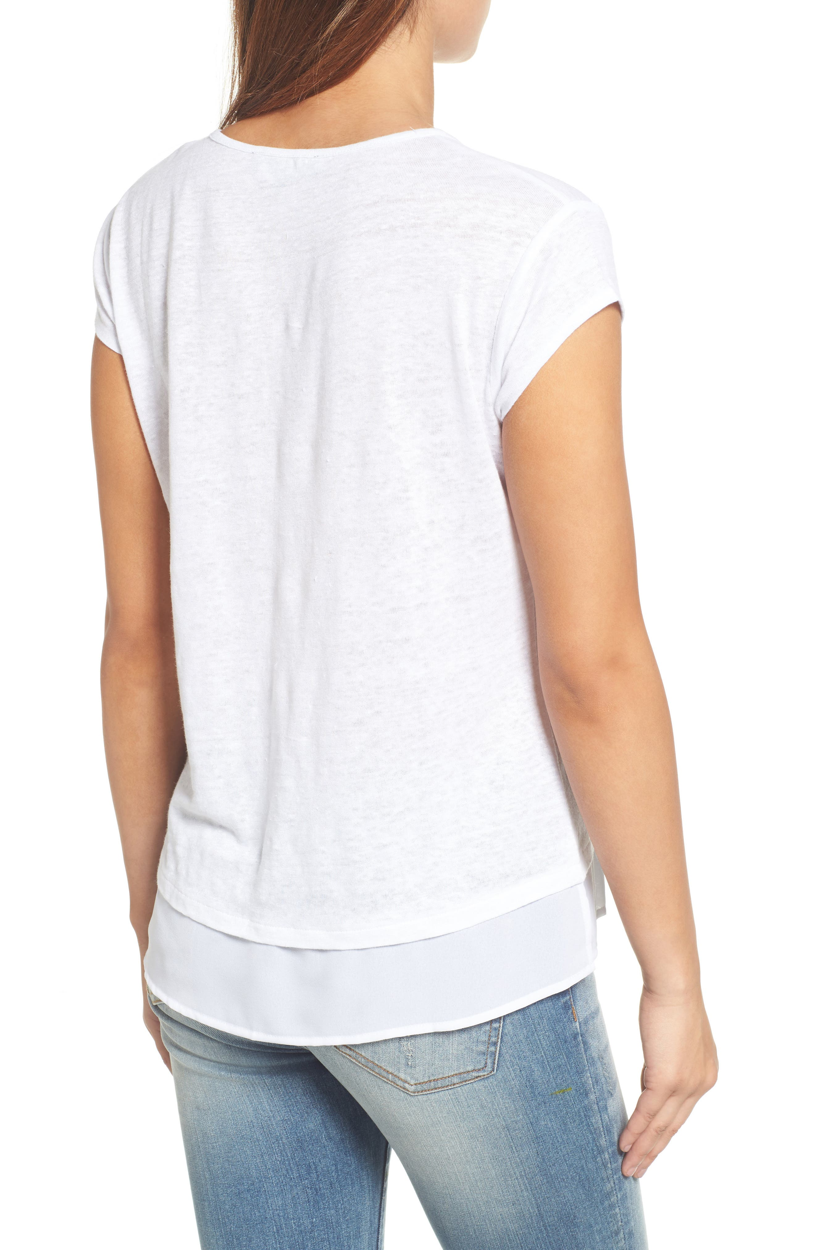 City Mix Layered Look Tee,                             Alternate thumbnail 52, color,