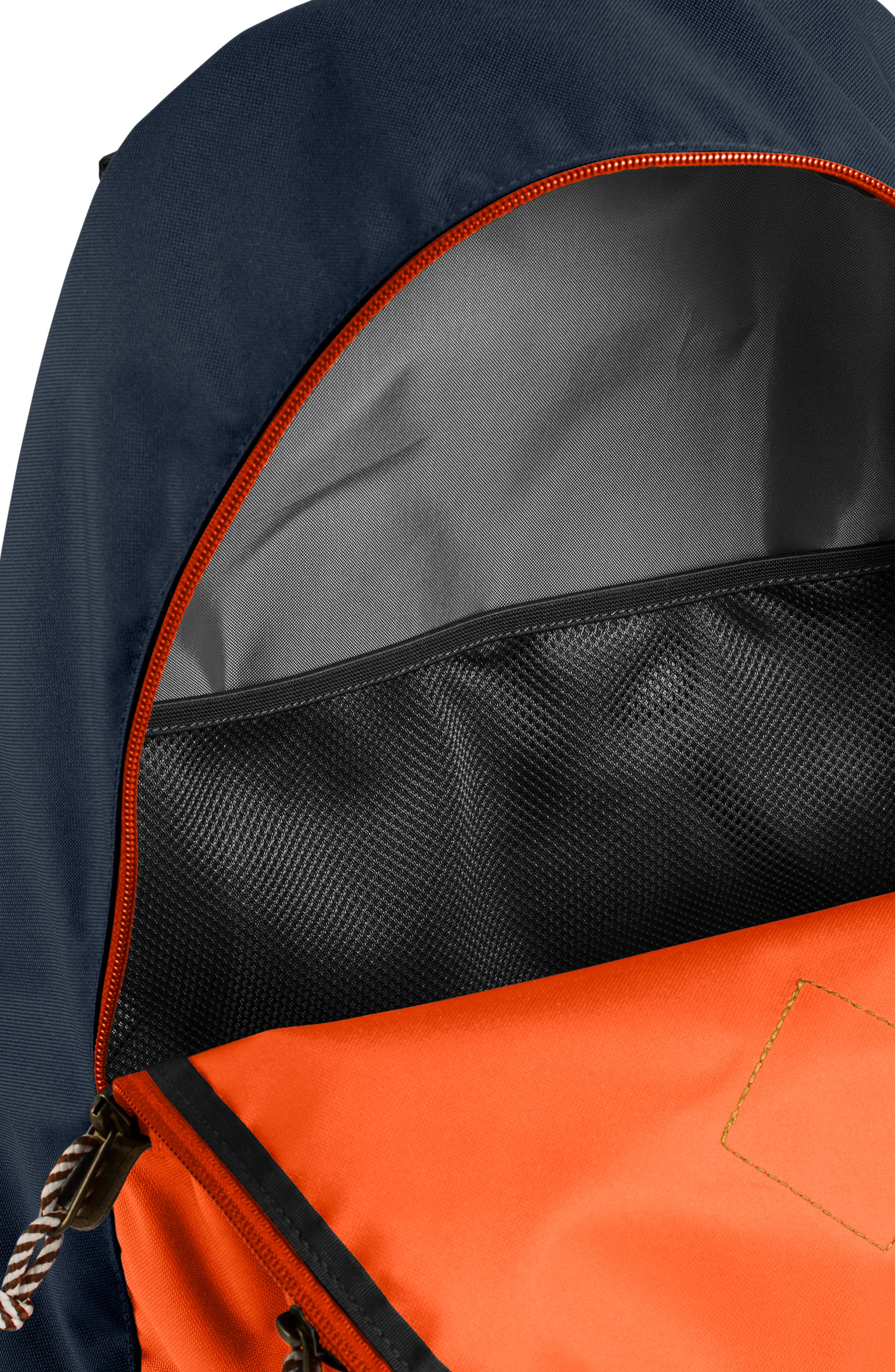 THE NORTH FACE,                             Berkeley 25-Liter Backpack,                             Alternate thumbnail 3, color,                             URBAN NAVY/PERSIAN ORANGE