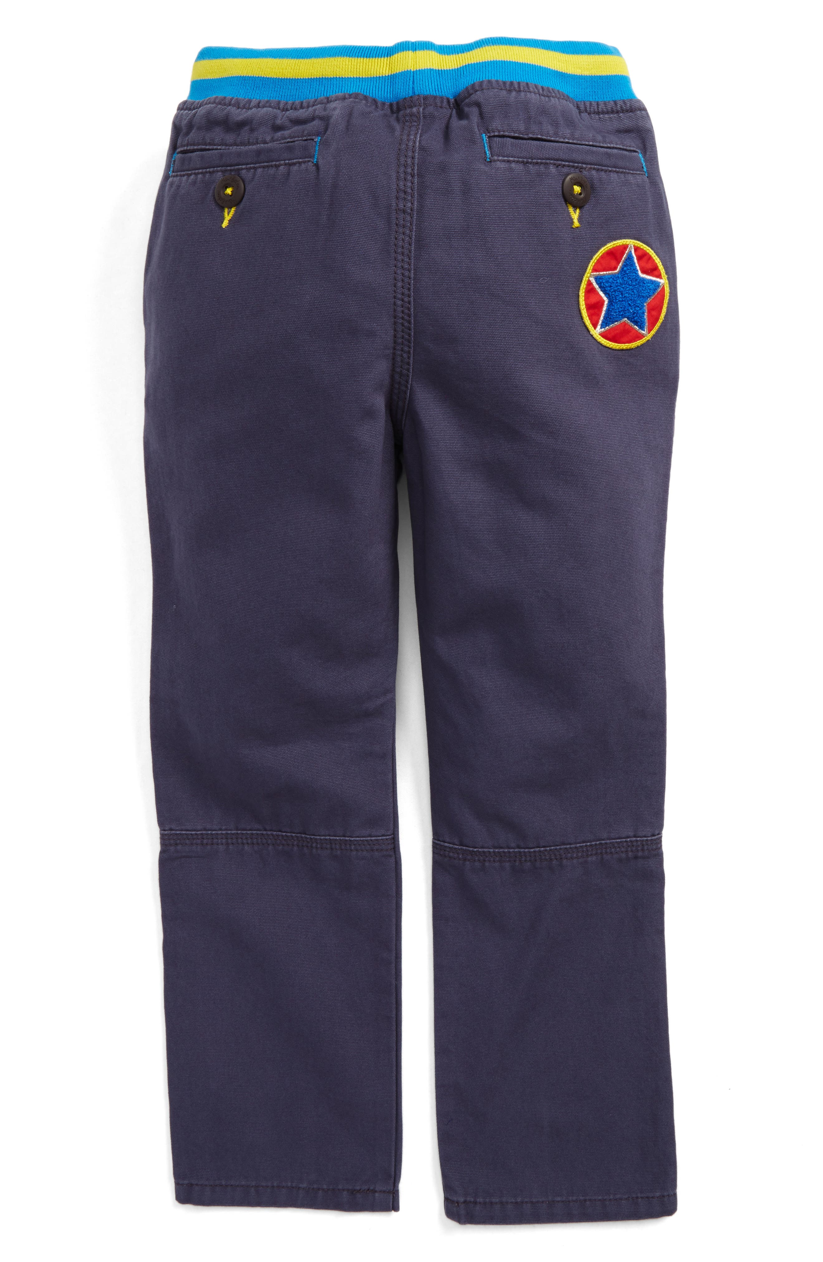 Pull-On Canvas Pants,                             Alternate thumbnail 3, color,
