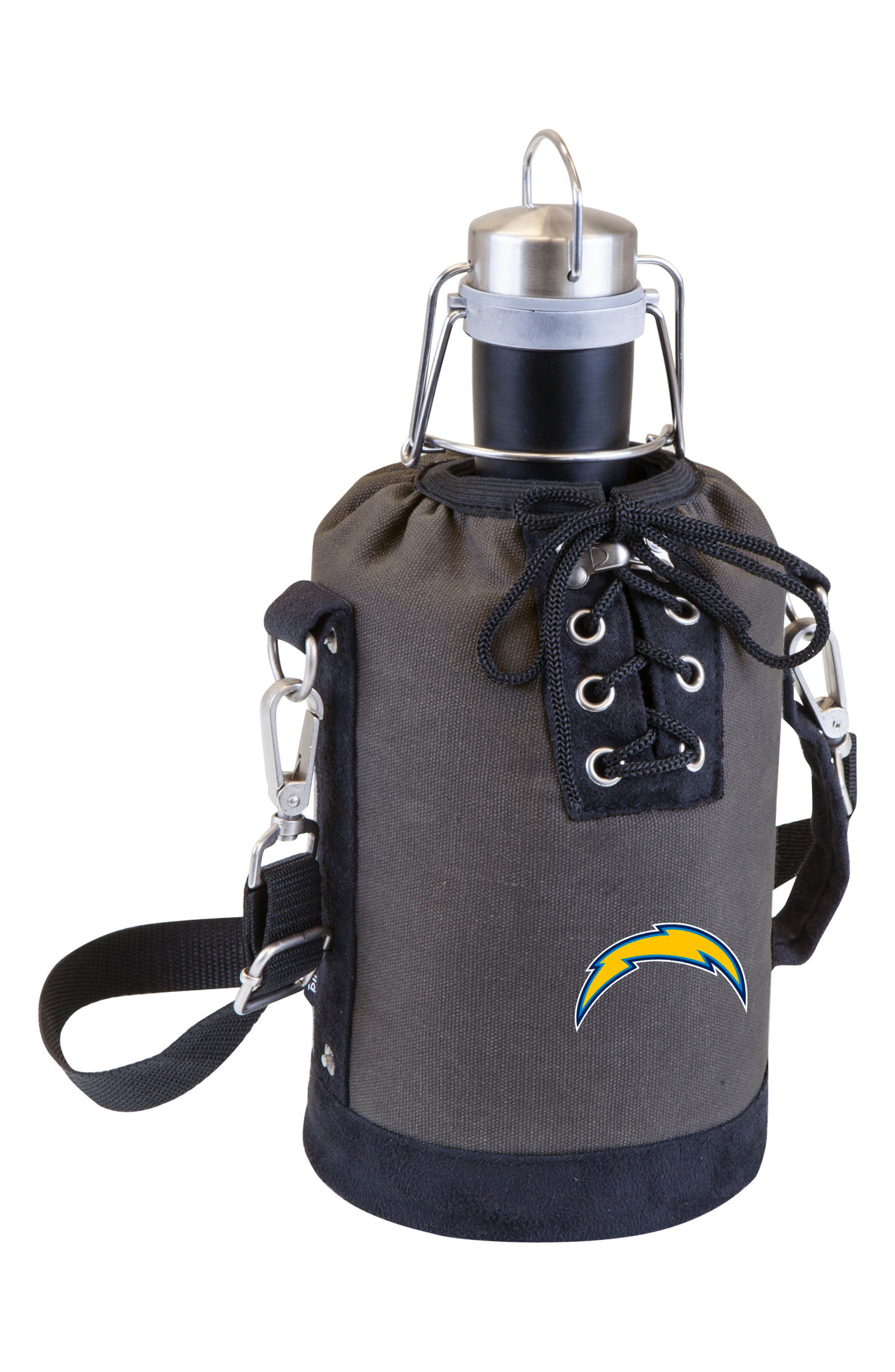 NFL Team Logo Tote & Stainless Steel Growler,                             Main thumbnail 32, color,