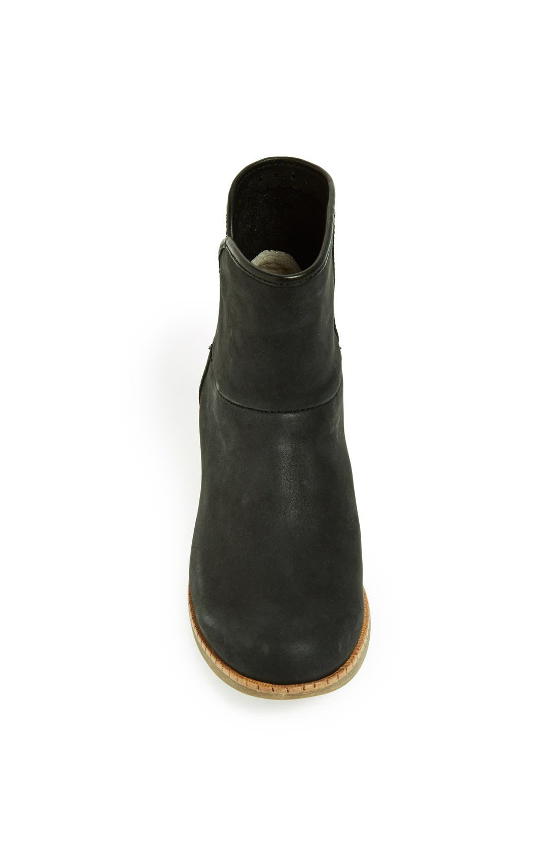 UGG<SUP>®</SUP>,                             Australia 'Darling' Suede Bootie,                             Alternate thumbnail 5, color,                             001