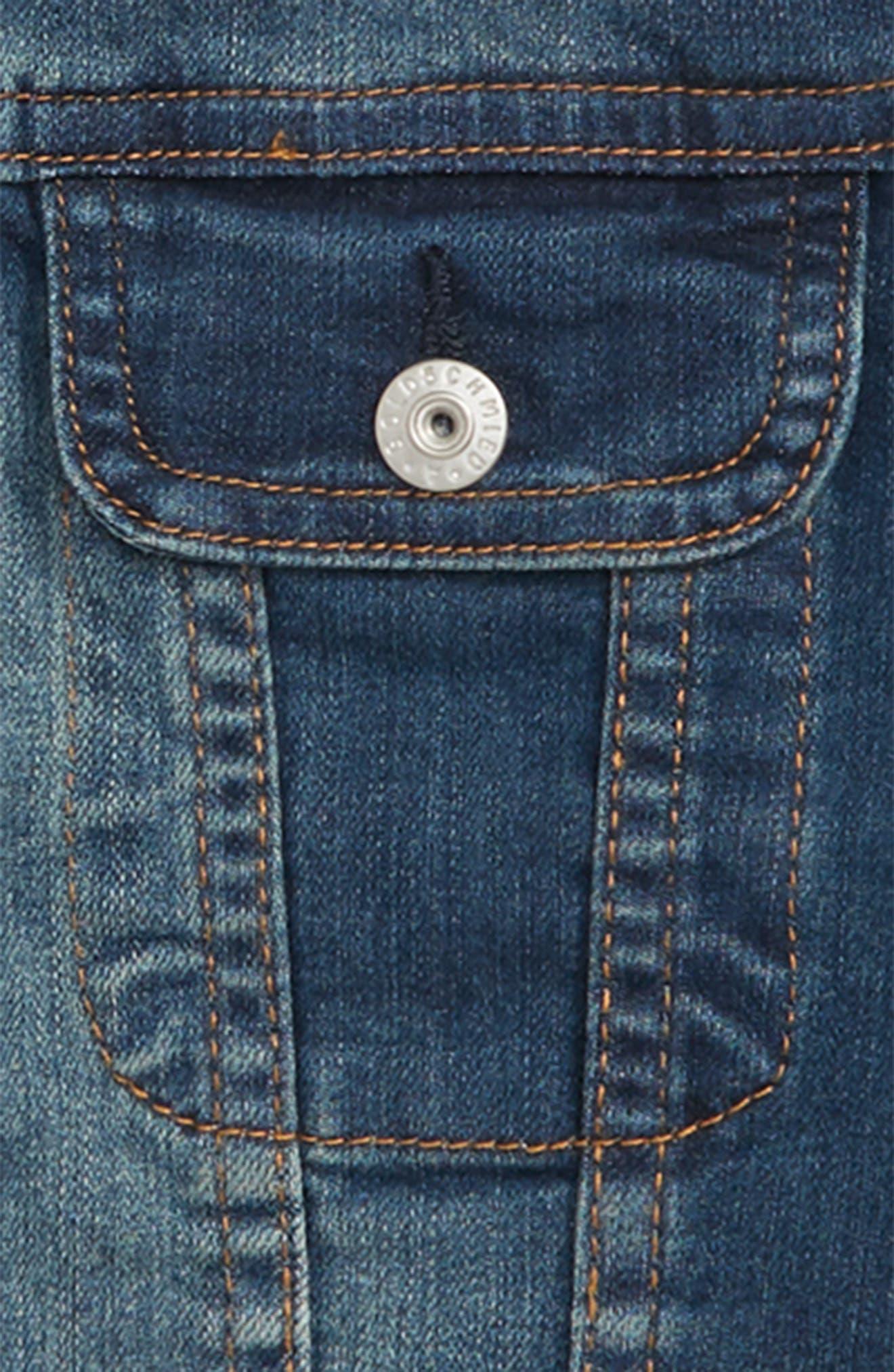 Denim Jacket,                             Alternate thumbnail 2, color,                             453