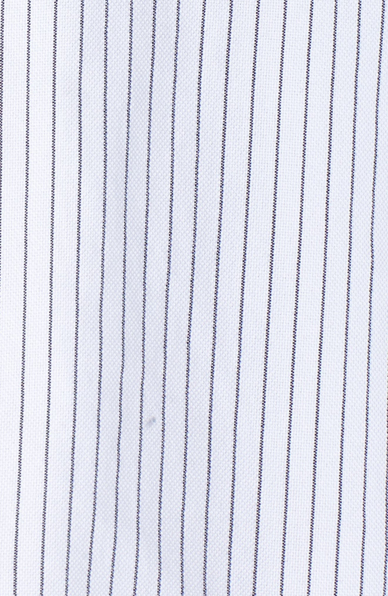Tia Stripe Shirtdress,                             Alternate thumbnail 5, color,                             160