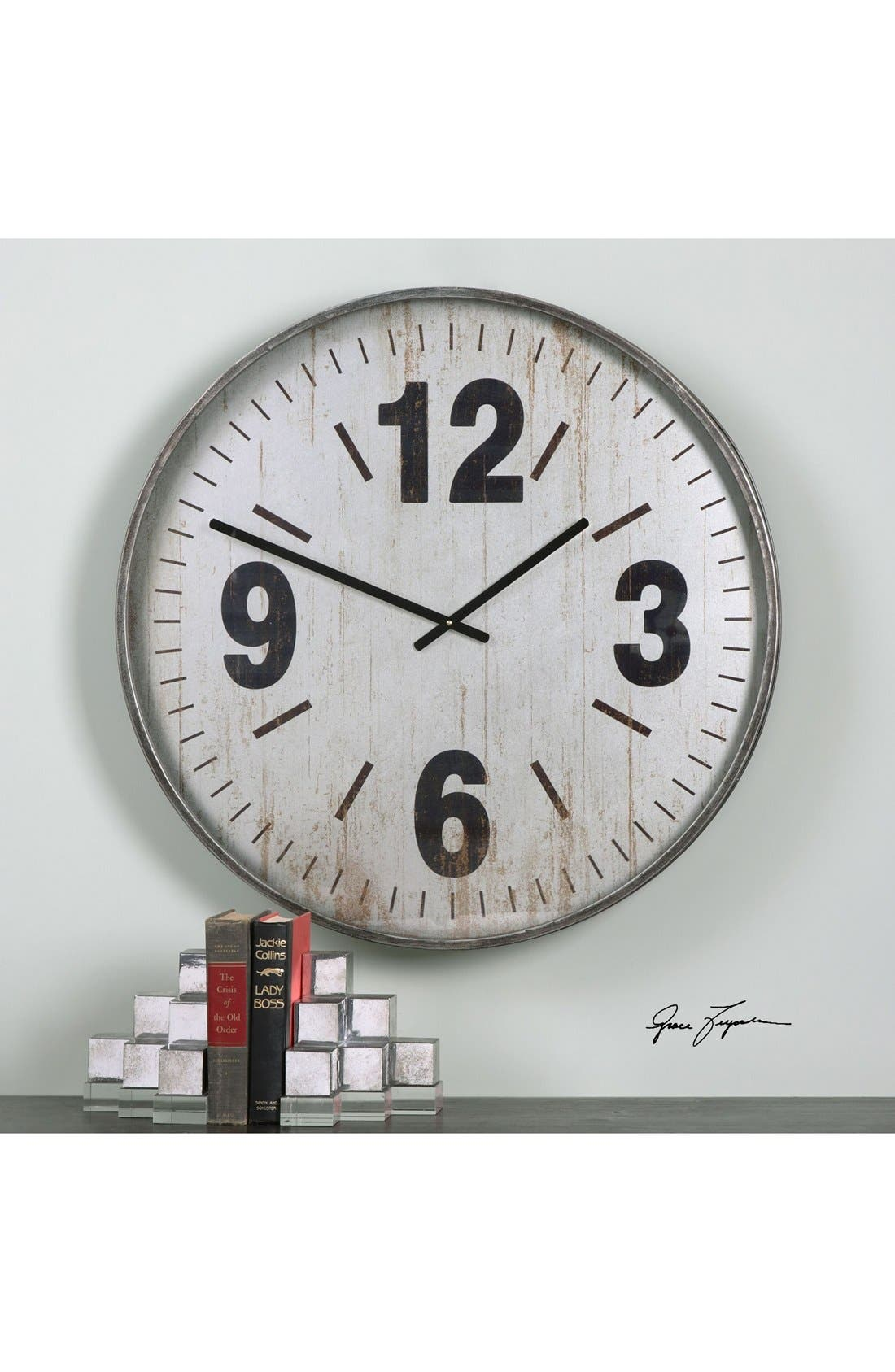 'Marino' Wall Clock,                             Alternate thumbnail 2, color,                             040
