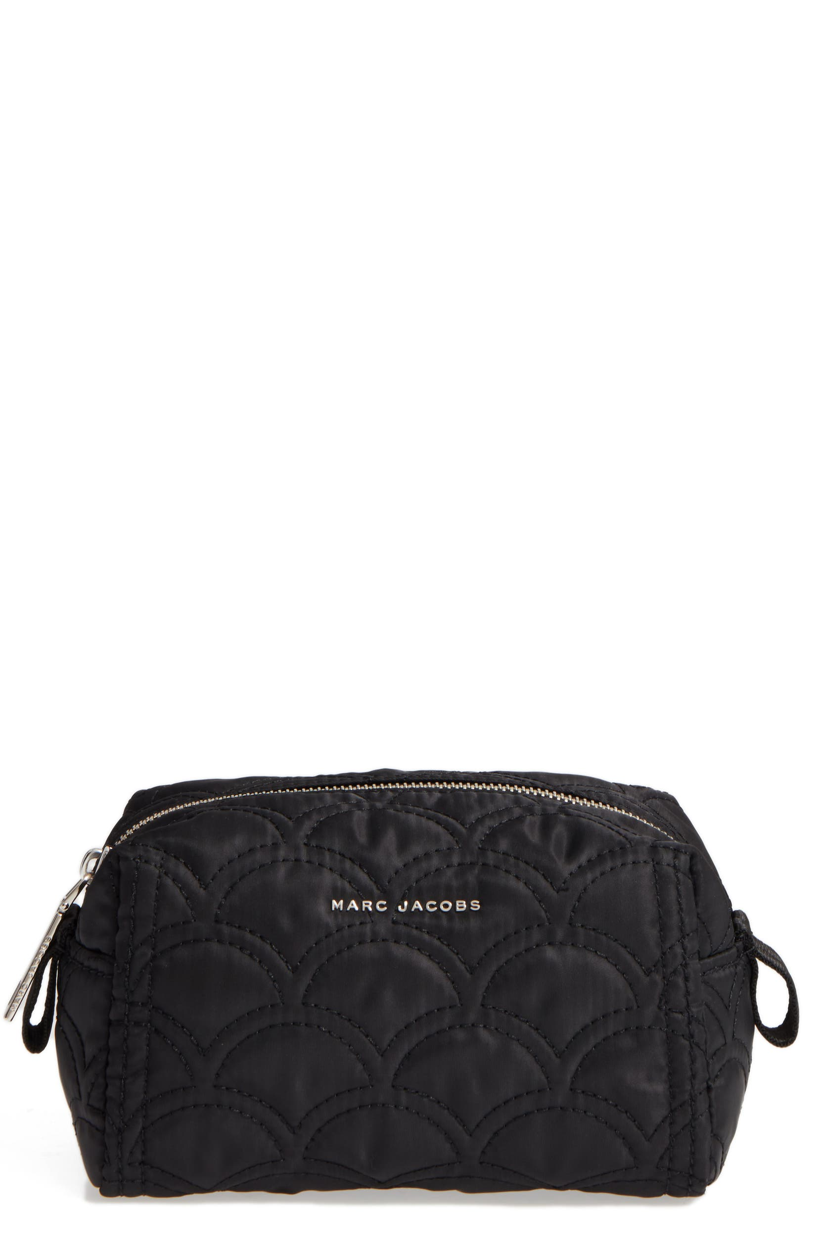7471decfa43e Lyst Marc By Jacobs Large Black Crosby Quilted Cosmetic Bag. Marc Jacobs  Large Quilted Cosmetics Bag Nordstrom