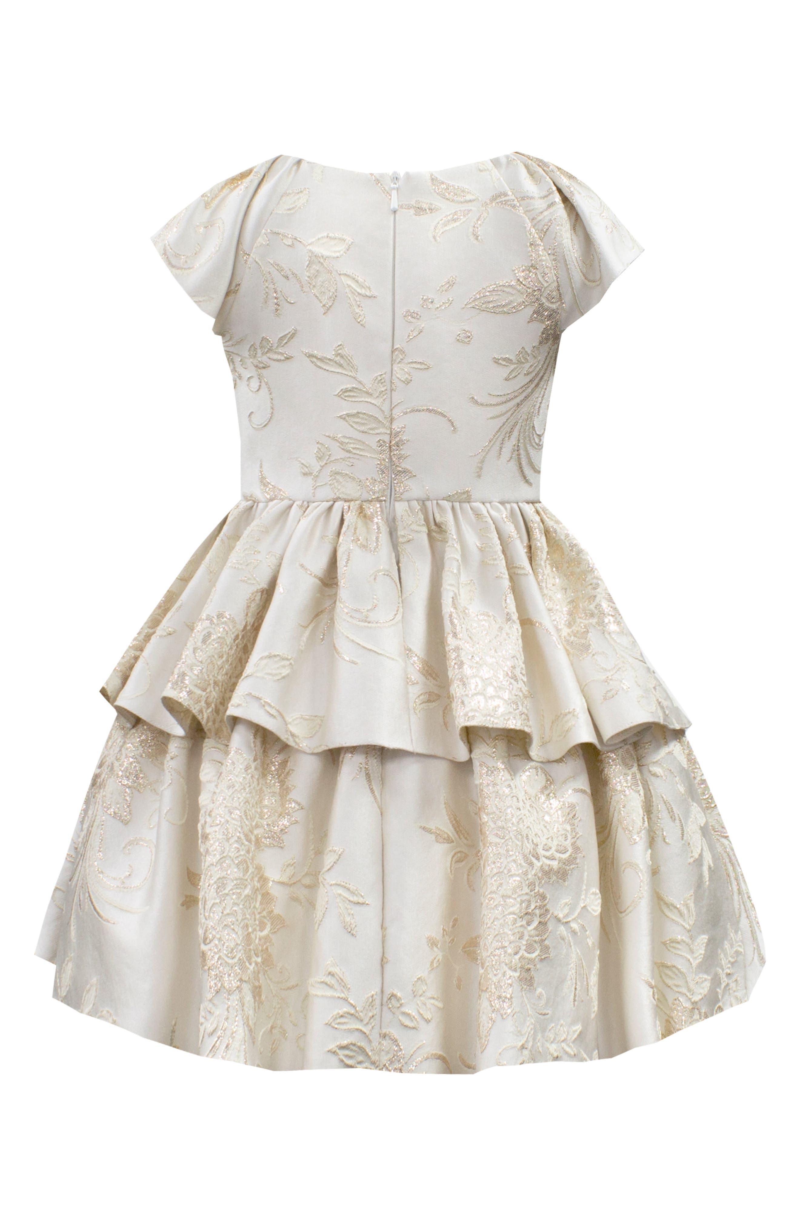 Brocade Dress,                             Alternate thumbnail 2, color,                             900