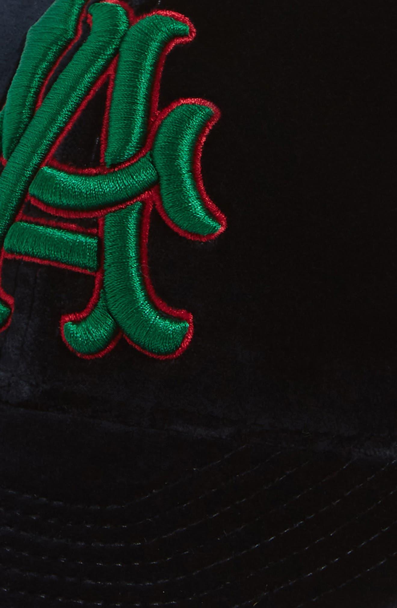 Velvet Baseball Cap,                             Alternate thumbnail 3, color,                             400
