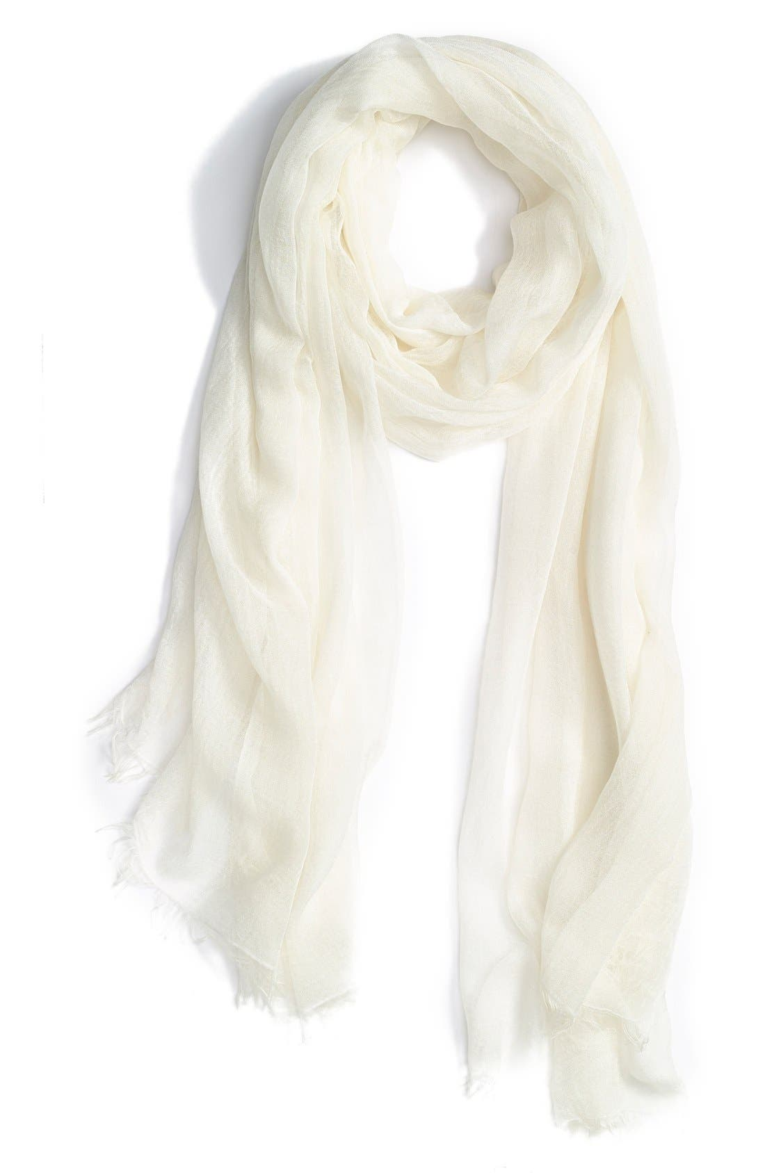 Modal Silk Blend Scarf,                             Main thumbnail 10, color,