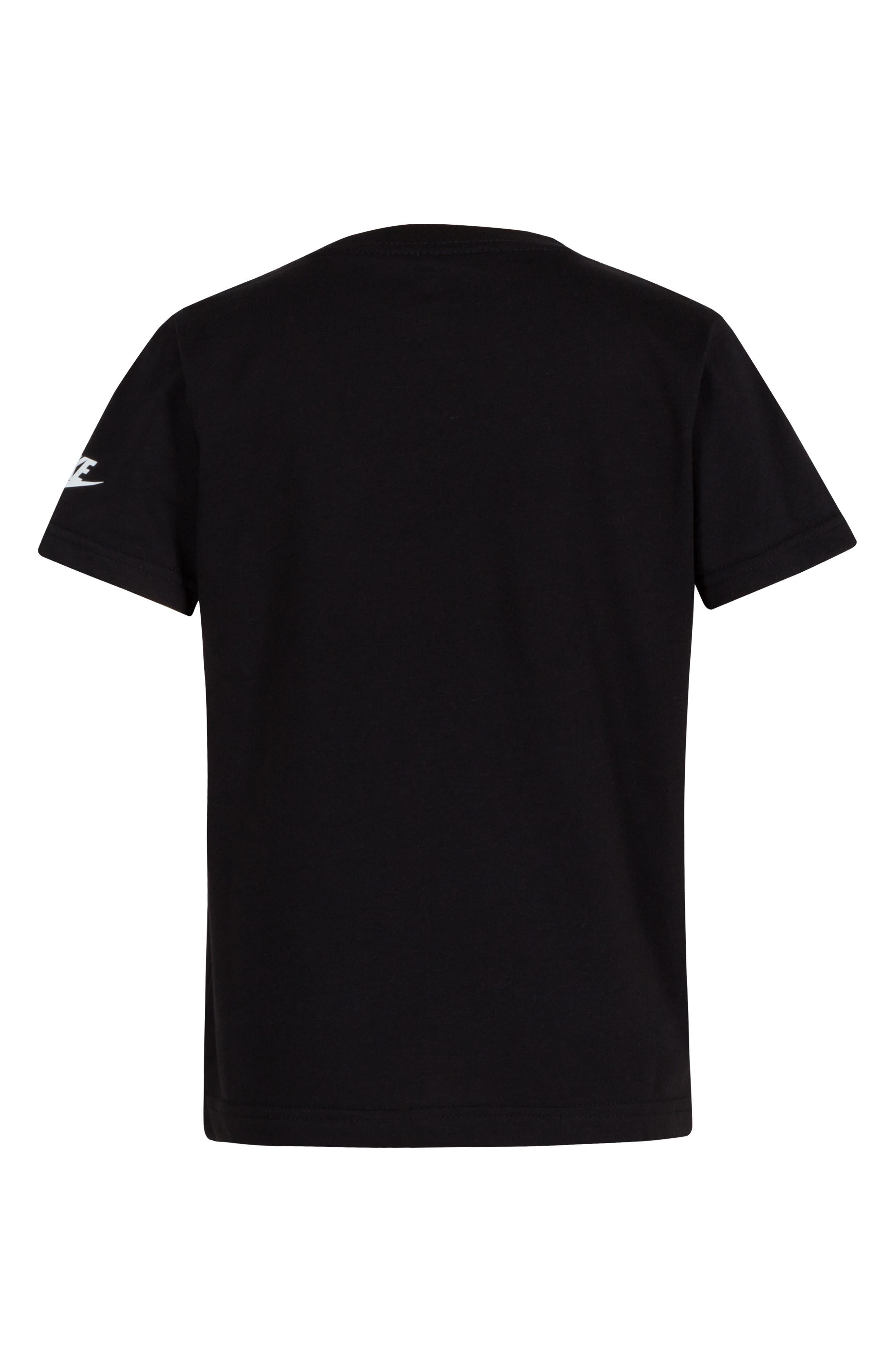 Dry Geo Multi Futura Graphic T-Shirt,                             Alternate thumbnail 2, color,                             BLACK