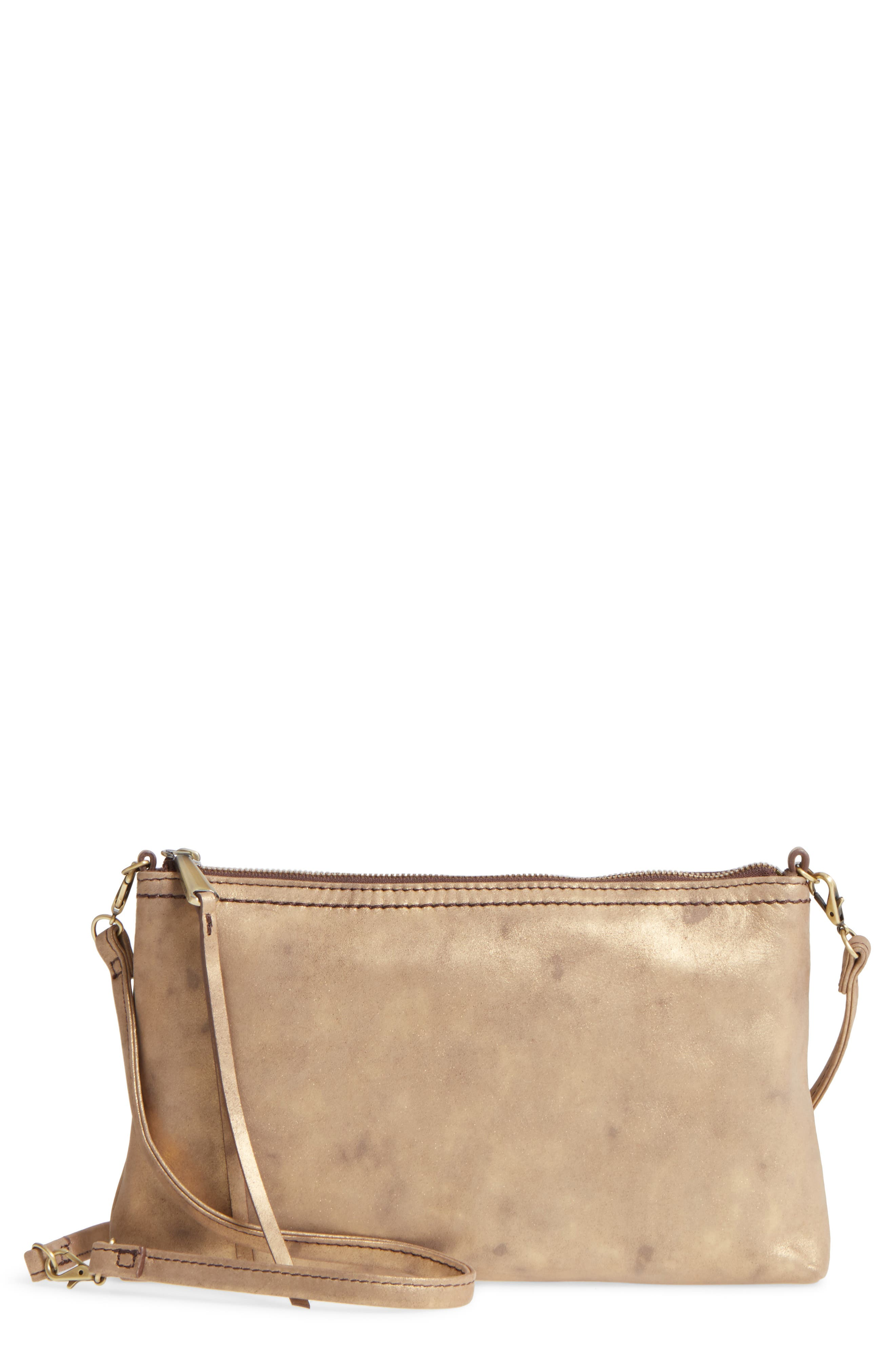 'Darcy' Leather Crossbody Bag,                             Main thumbnail 3, color,