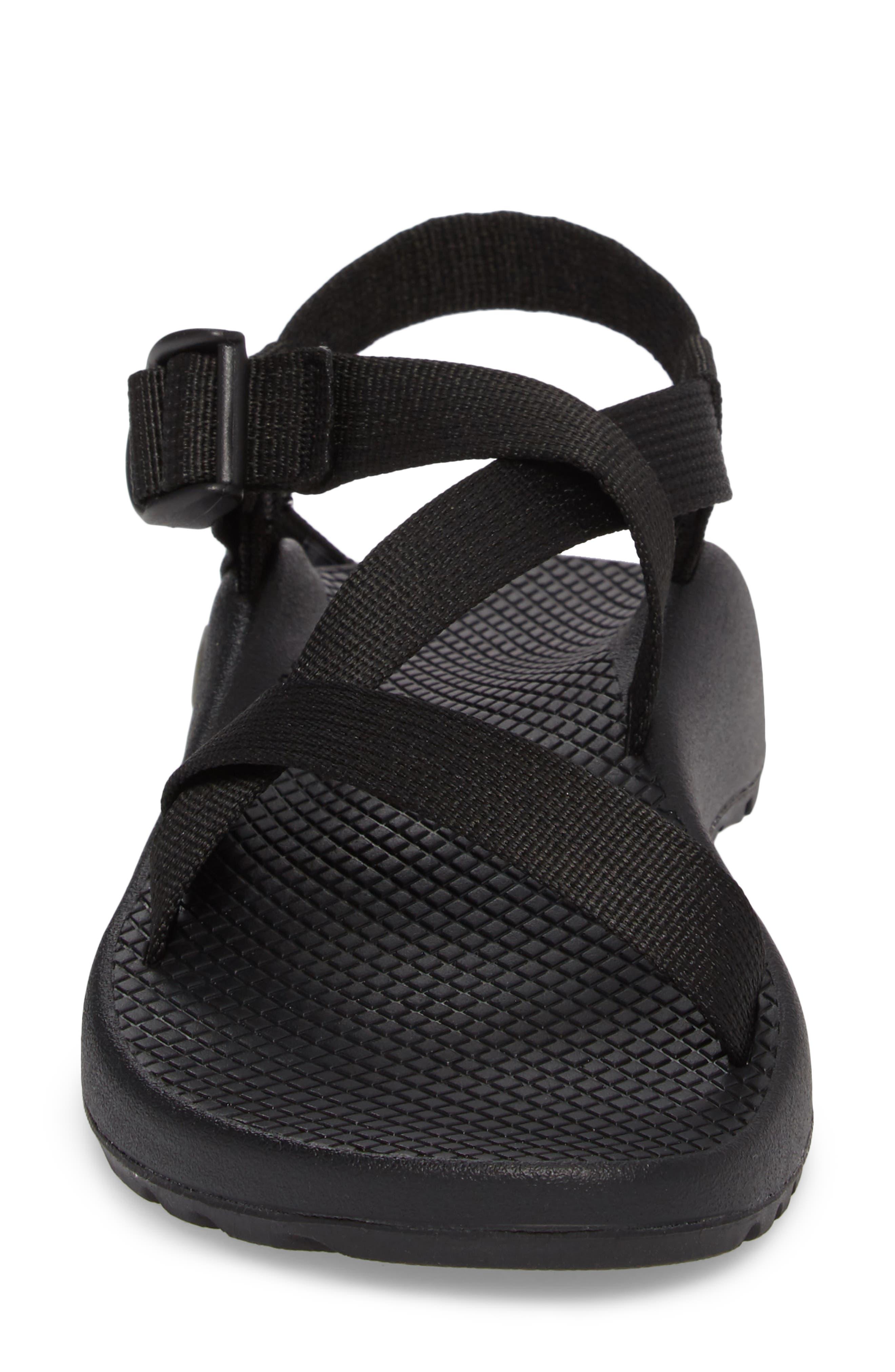 Z/1 Classic Sport Sandal,                             Alternate thumbnail 4, color,                             BLACK