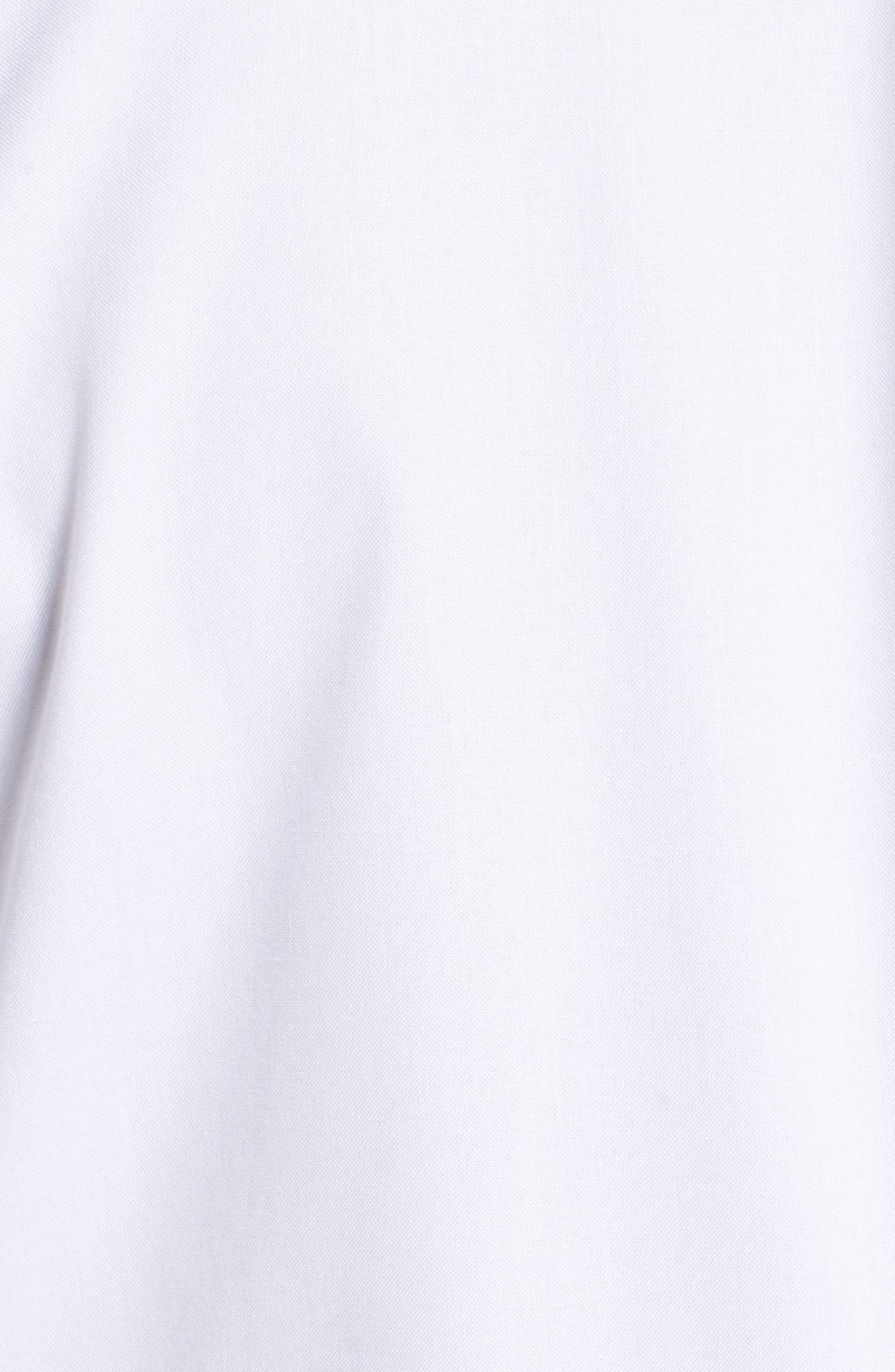 Sheri Stretch Cotton Shirt,                             Alternate thumbnail 5, color,                             100
