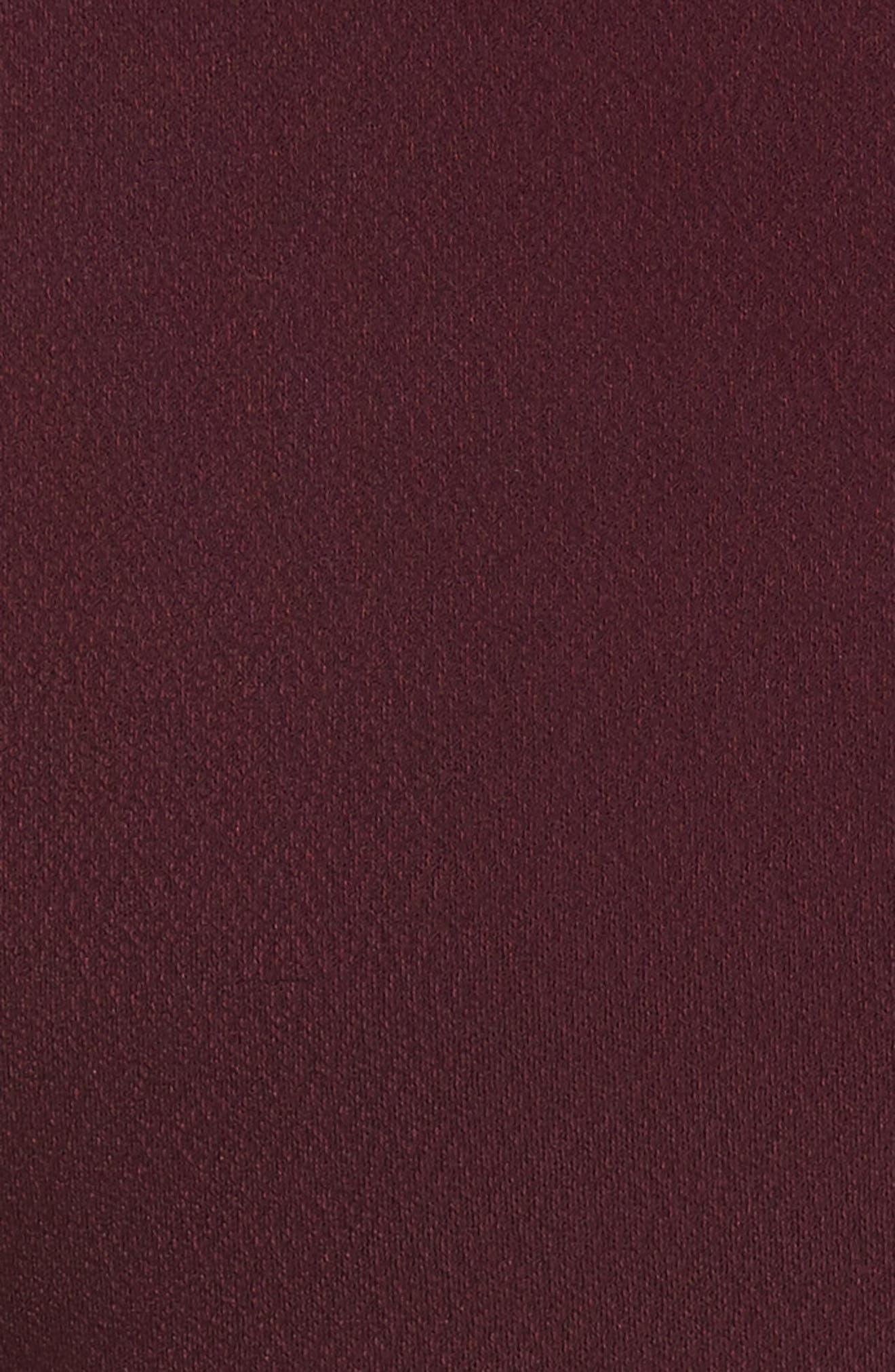 Wandee Ponte Body-Con Dress,                             Alternate thumbnail 5, color,                             410