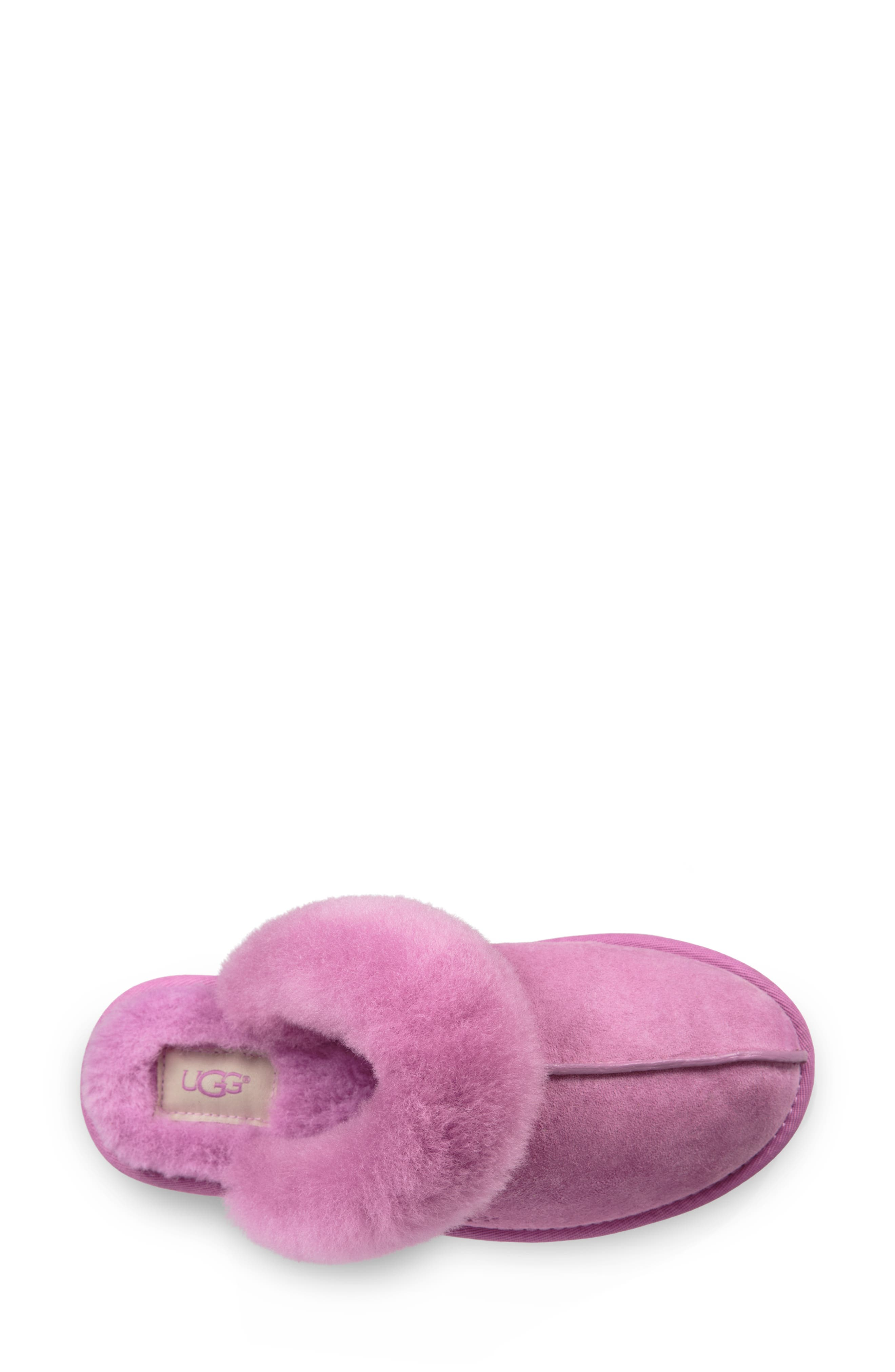 Scuffette II Water Resistant Slipper,                             Alternate thumbnail 4, color,                             BODACIOUS