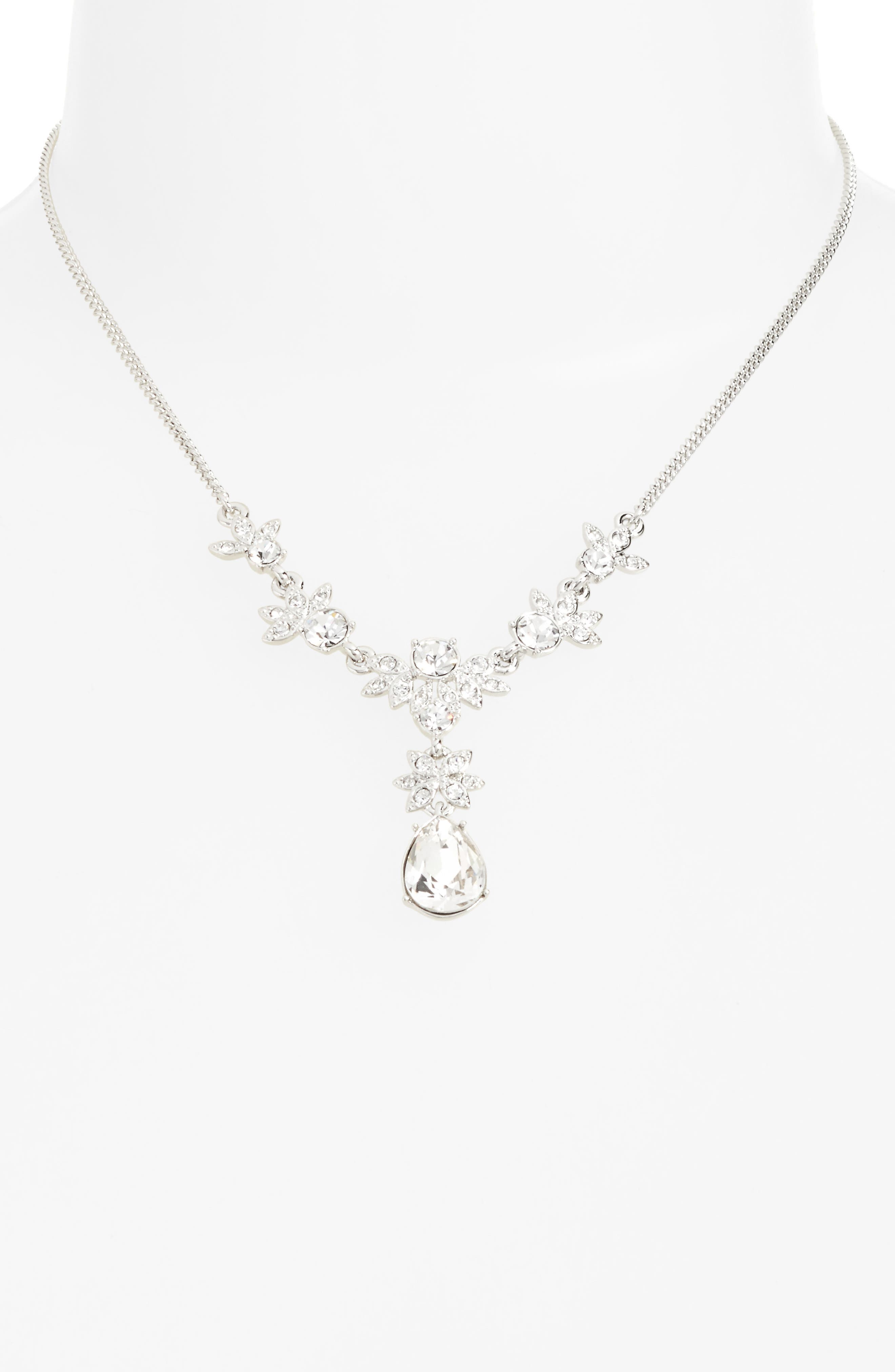 Crystal Y-Necklace,                             Alternate thumbnail 2, color,                             040