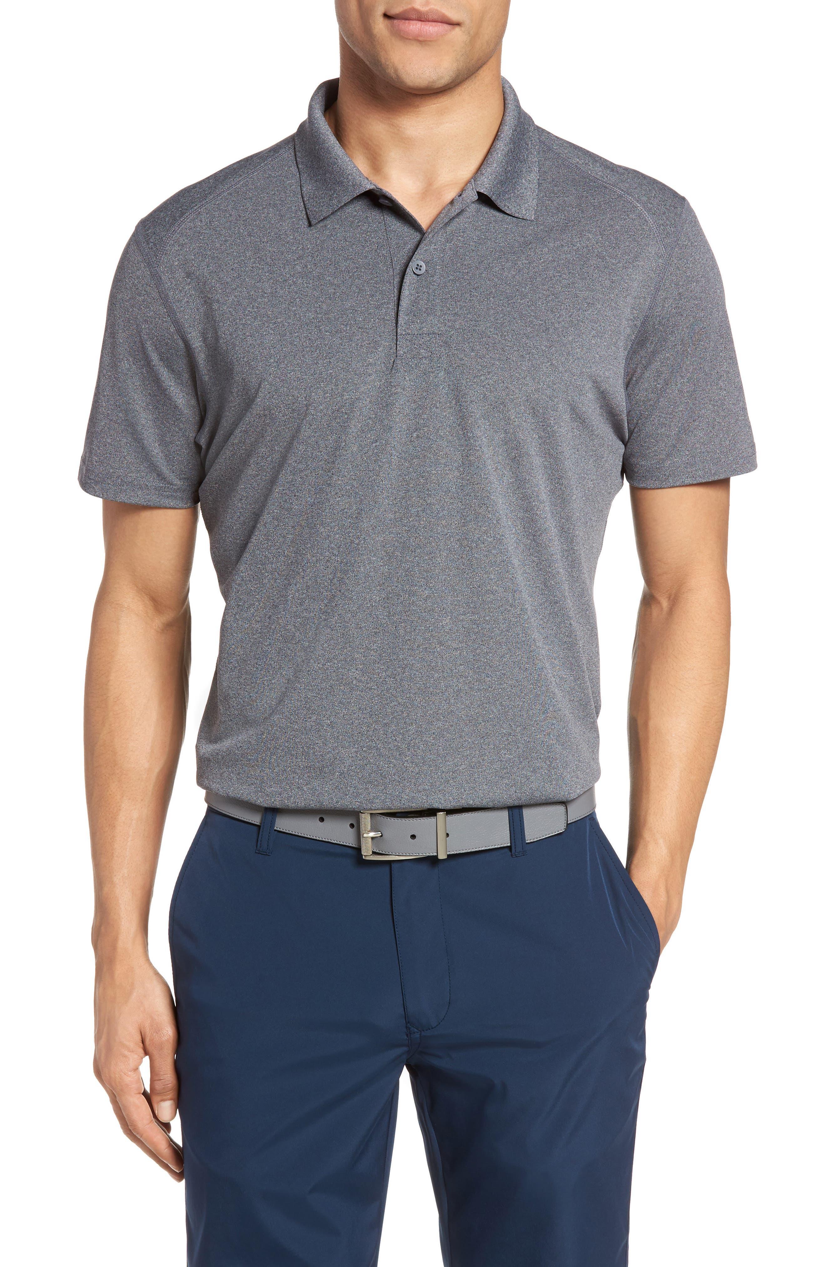 Bonobos M-Flex Flatiron Slim Fit Golf Polo, Grey