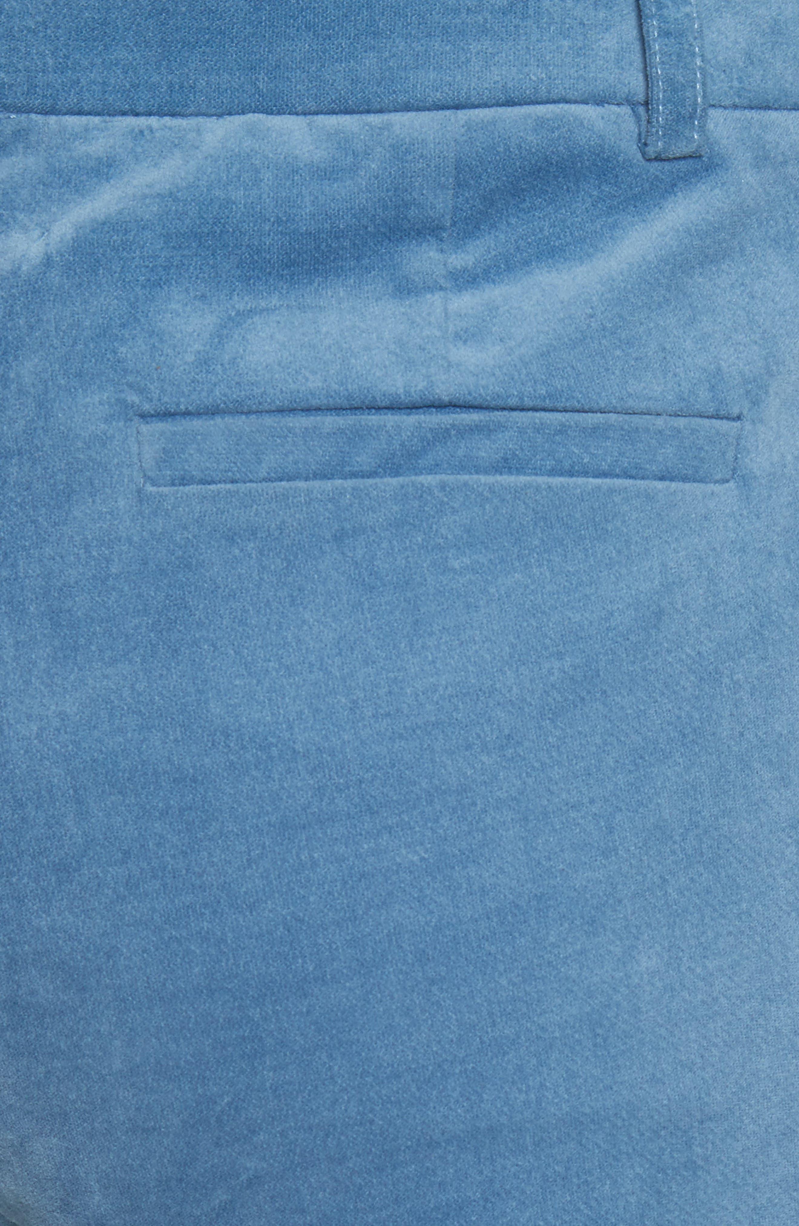 Moleskin Stretch Cotton Skinny Pants,                             Alternate thumbnail 5, color,                             400