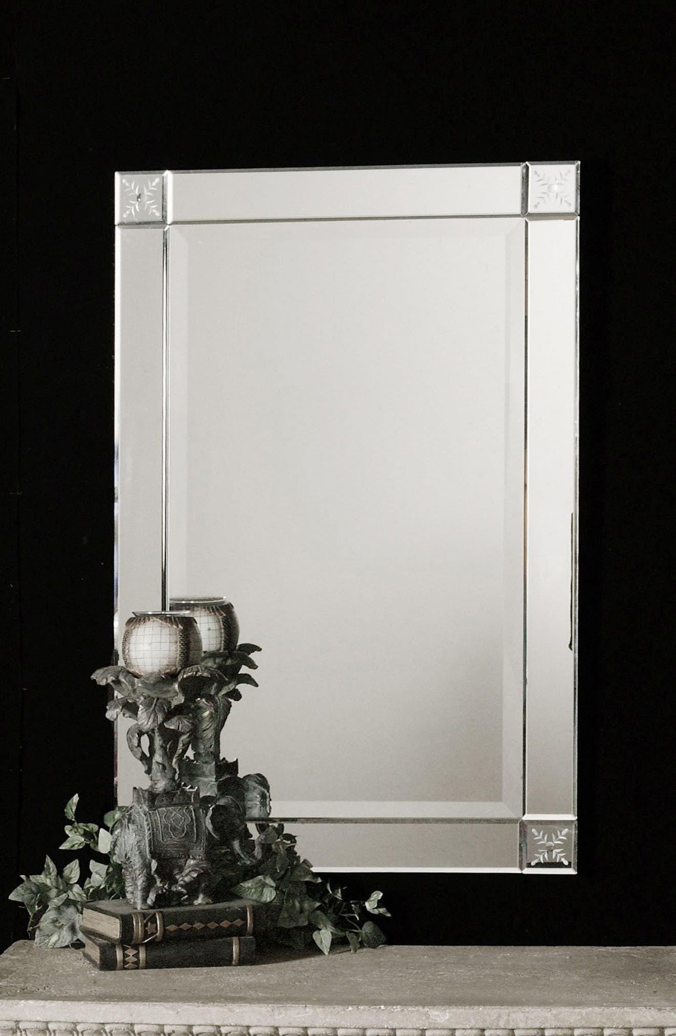 Emberlynn Frameless Wall Mirror,                             Alternate thumbnail 2, color,                             040