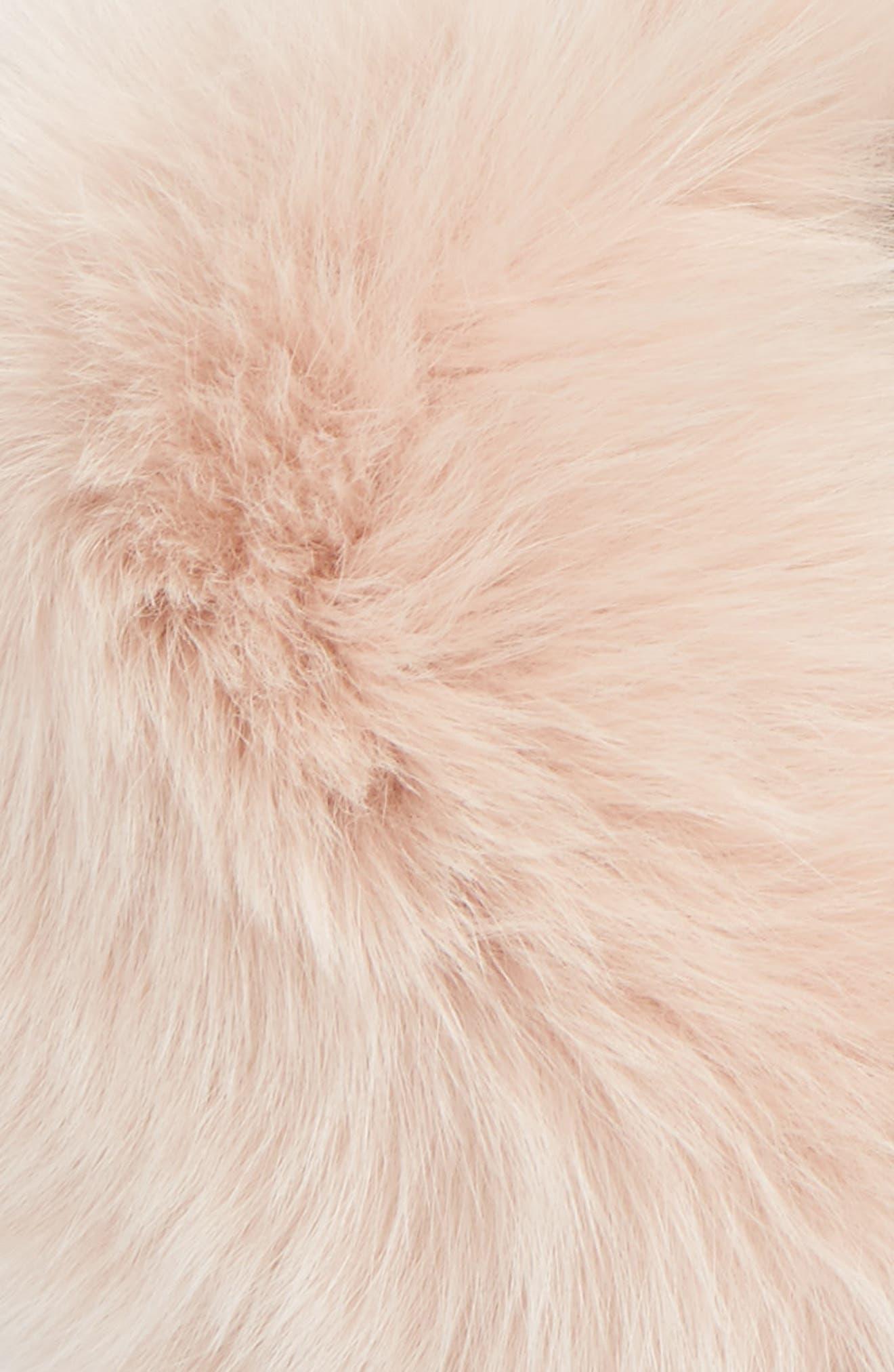 Genuine Fox Fur Collar,                             Alternate thumbnail 10, color,