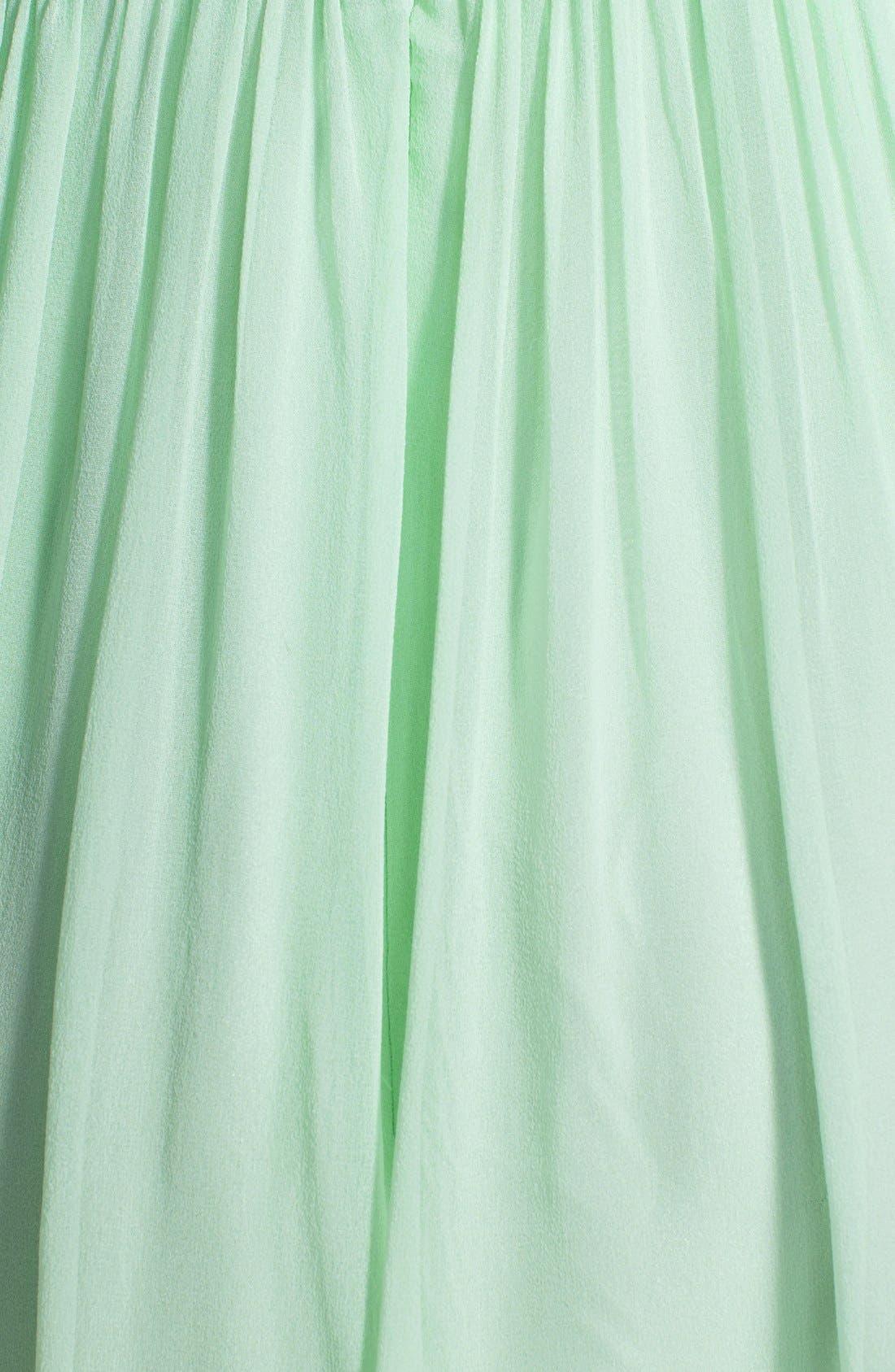 'Morgan' Strapless Silk Chiffon Dress,                             Alternate thumbnail 131, color,