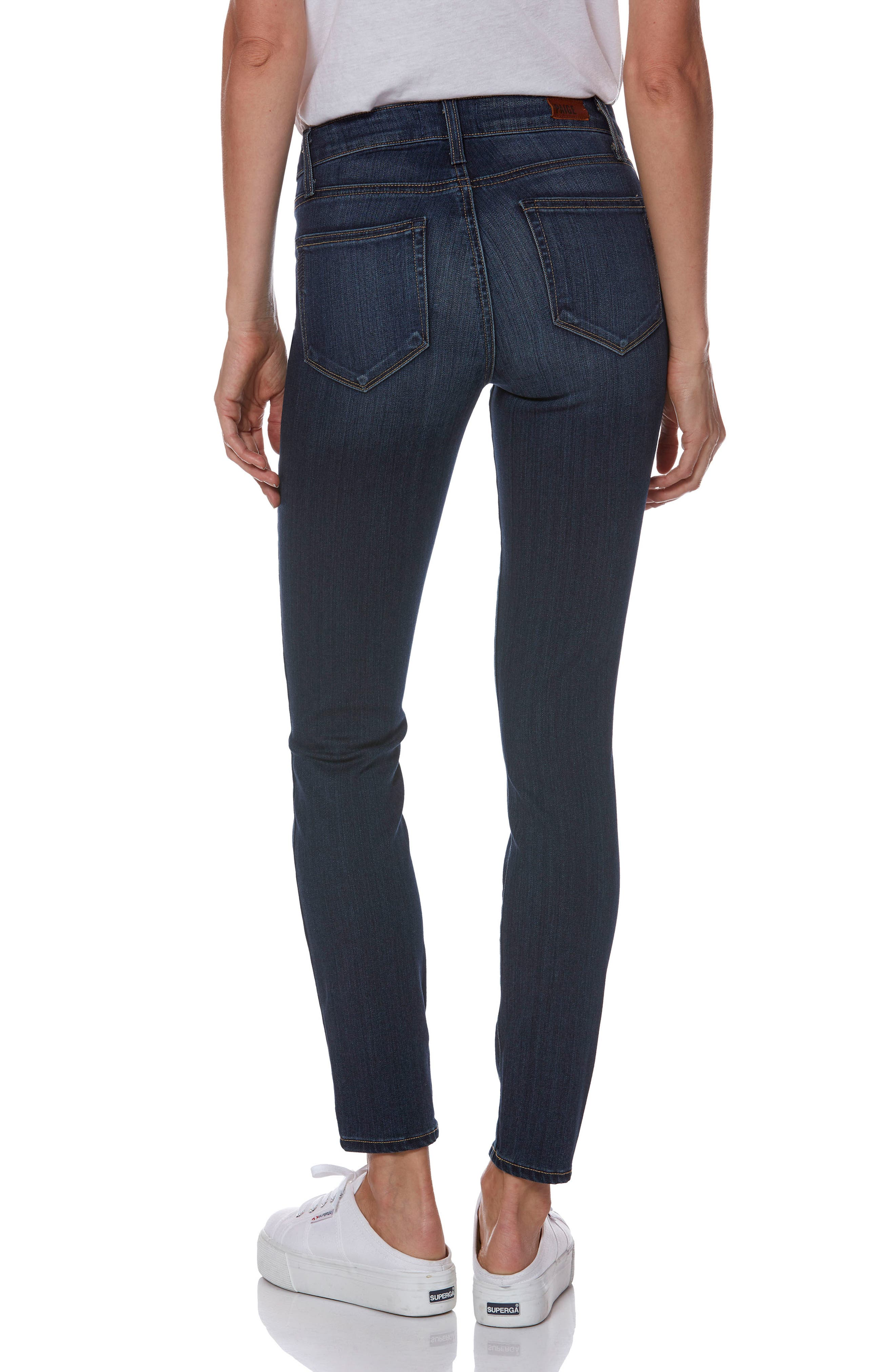 Transcend - Verdugo Ankle Skinny Jeans,                             Alternate thumbnail 2, color,                             NOTTINGHAM