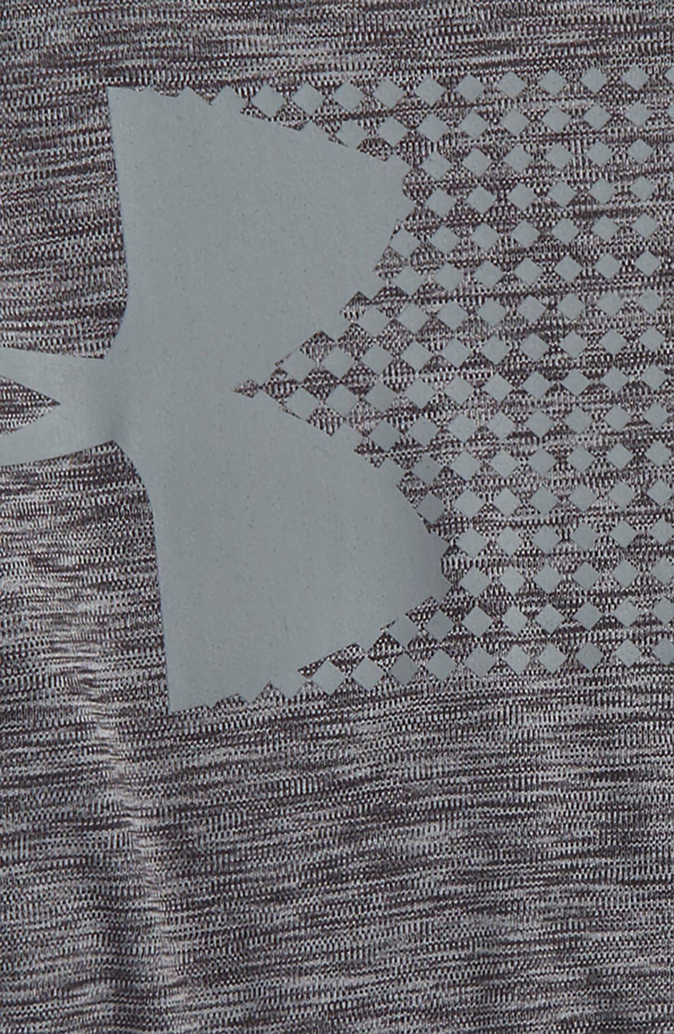 Crossfade HeatGear<sup>®</sup> T-Shirt,                             Alternate thumbnail 2, color,                             001