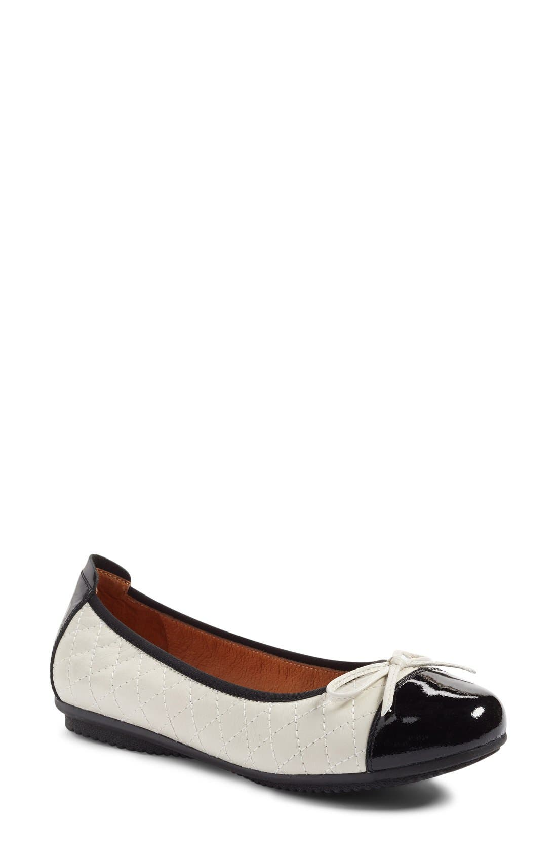 'Pippa 25' Cap Toe Flat,                             Main thumbnail 4, color,