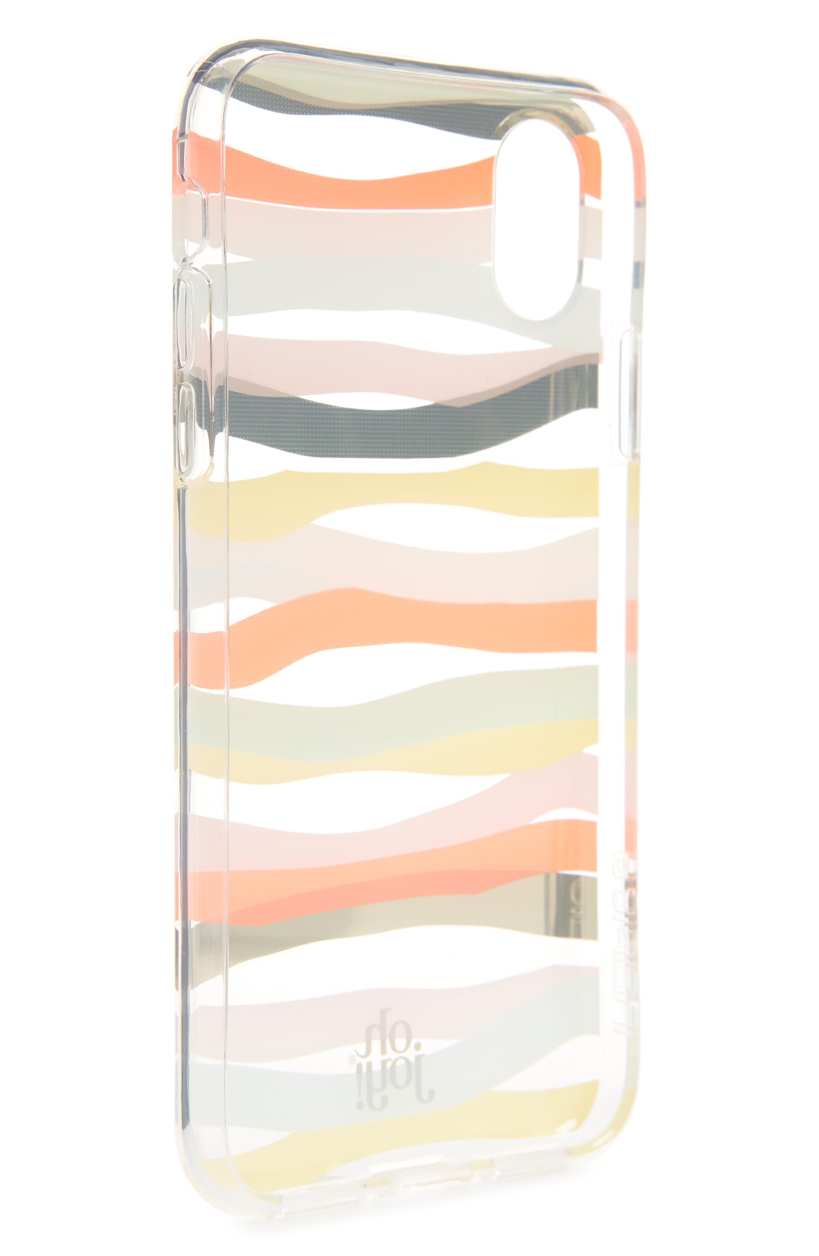 Oh Joy Stripe iPhone X/Xs Plus Case,                             Alternate thumbnail 2, color,                             650