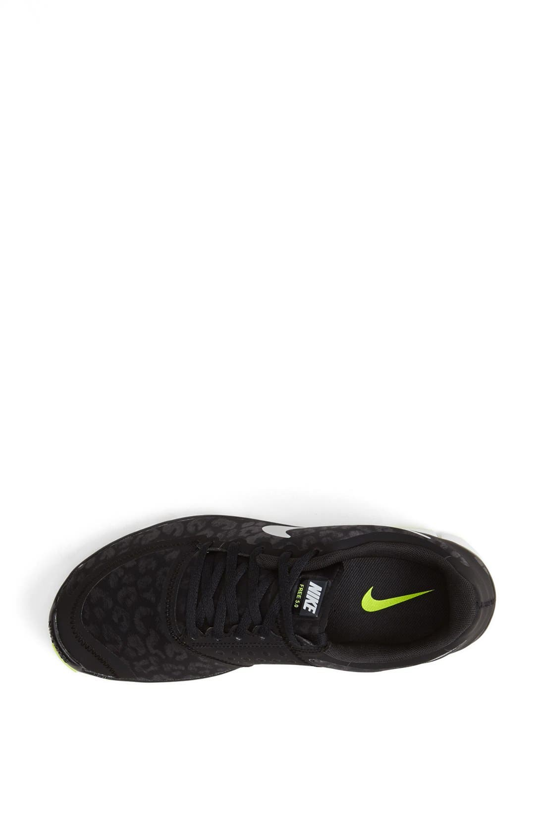 'Free 5.0 V4' Running Shoe,                             Alternate thumbnail 3, color,                             008